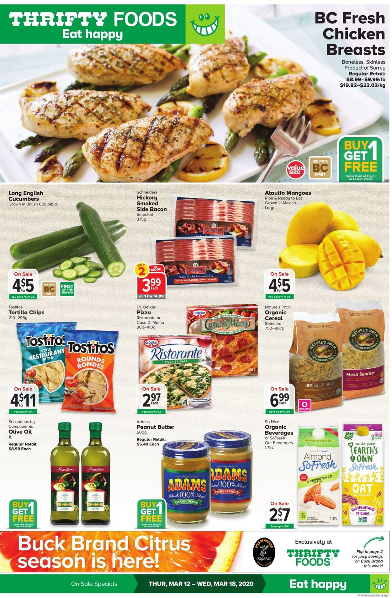 Thrifty Foods Flyer - 03/12-03/18/2020