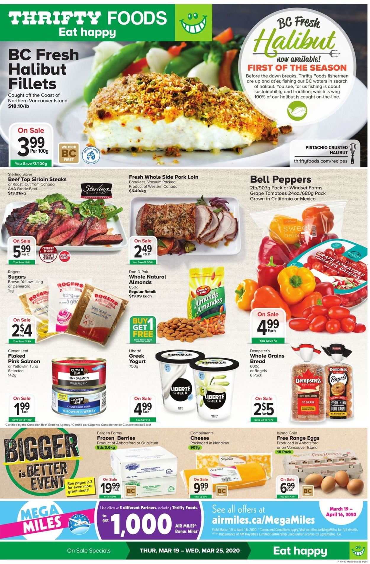 Thrifty Foods Flyer - 03/19-03/25/2020