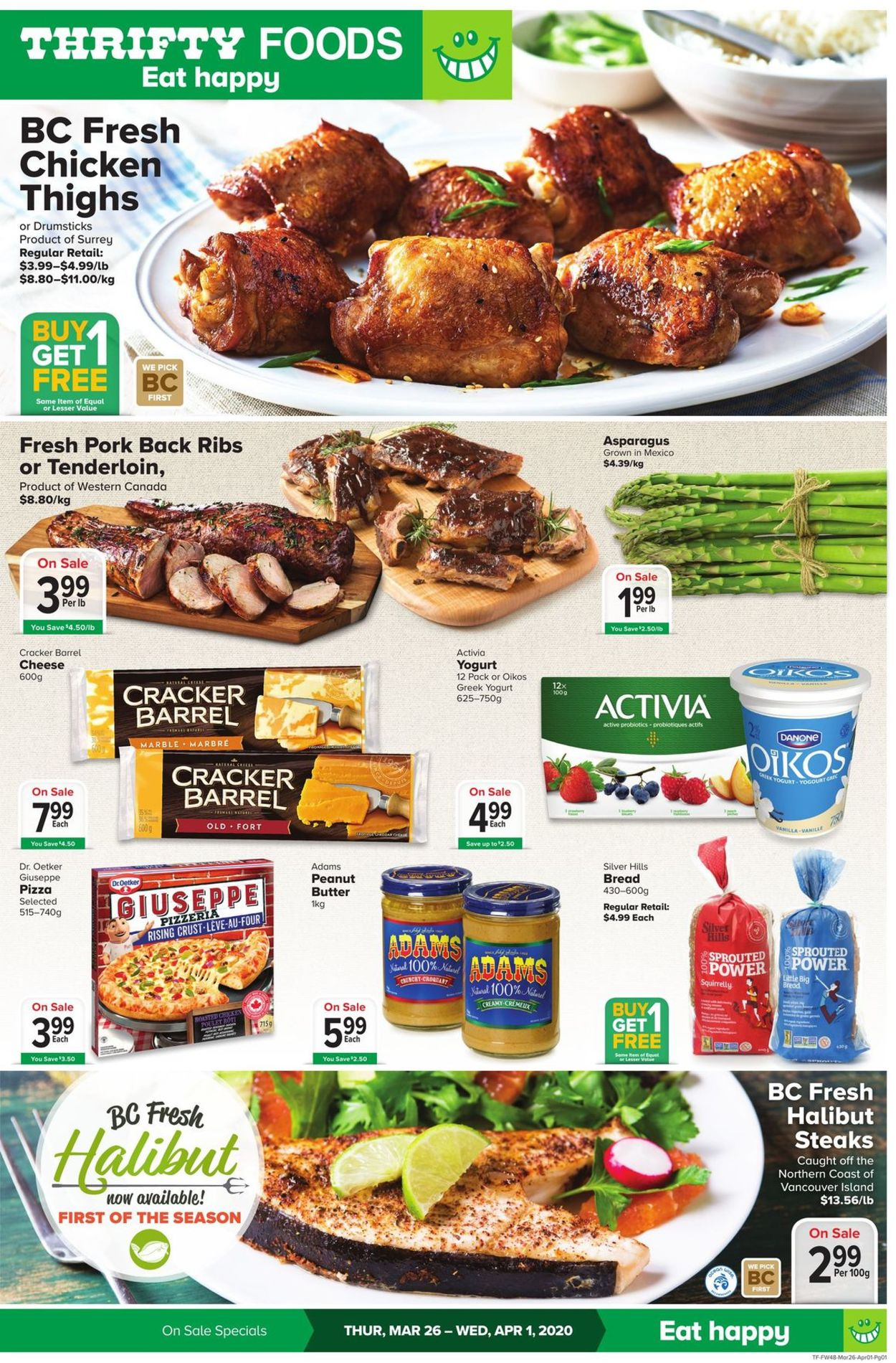 Thrifty Foods Flyer - 03/26-04/01/2020