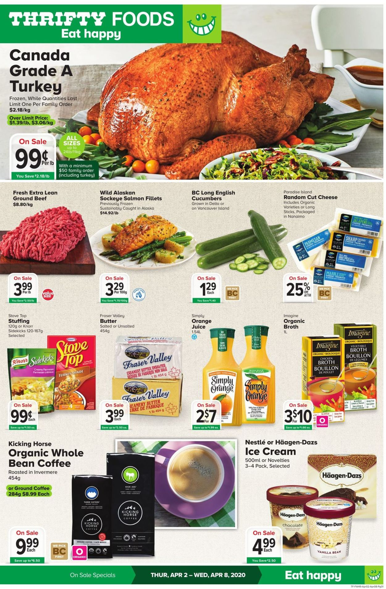 Thrifty Foods Flyer - 04/02-04/08/2020
