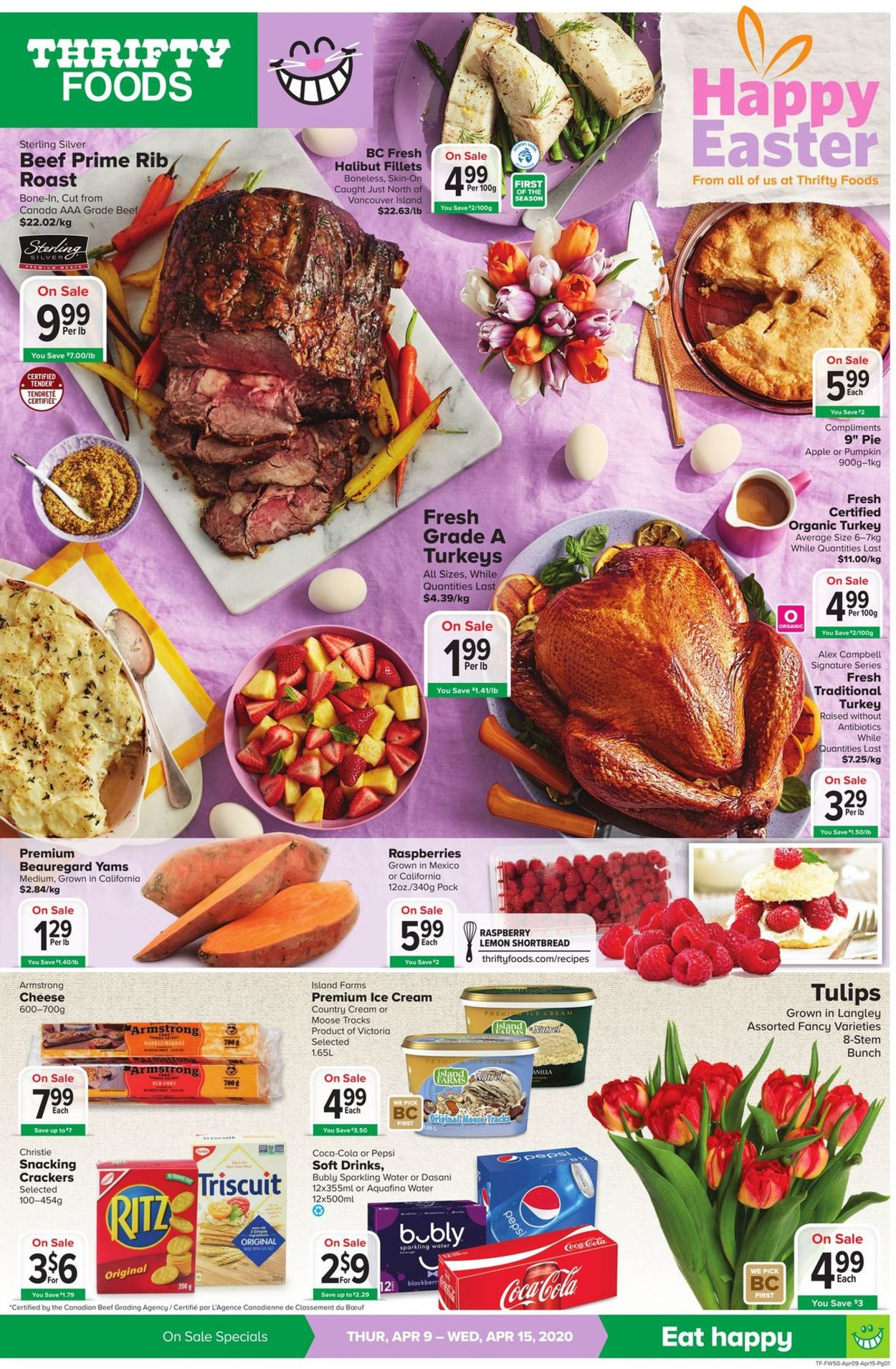 Thrifty Foods Flyer - 04/09-04/15/2020