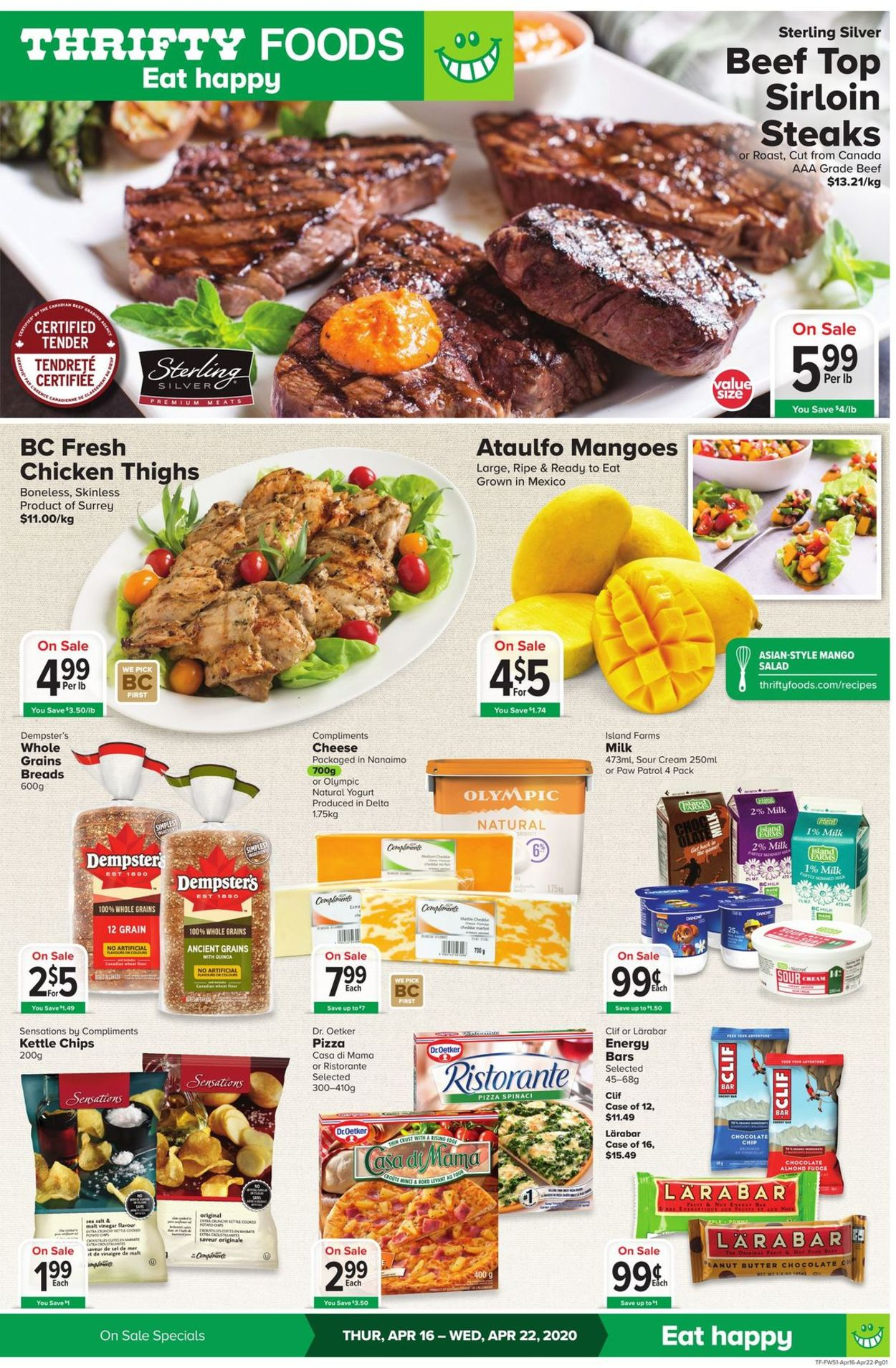 Thrifty Foods Flyer - 04/16-04/22/2020