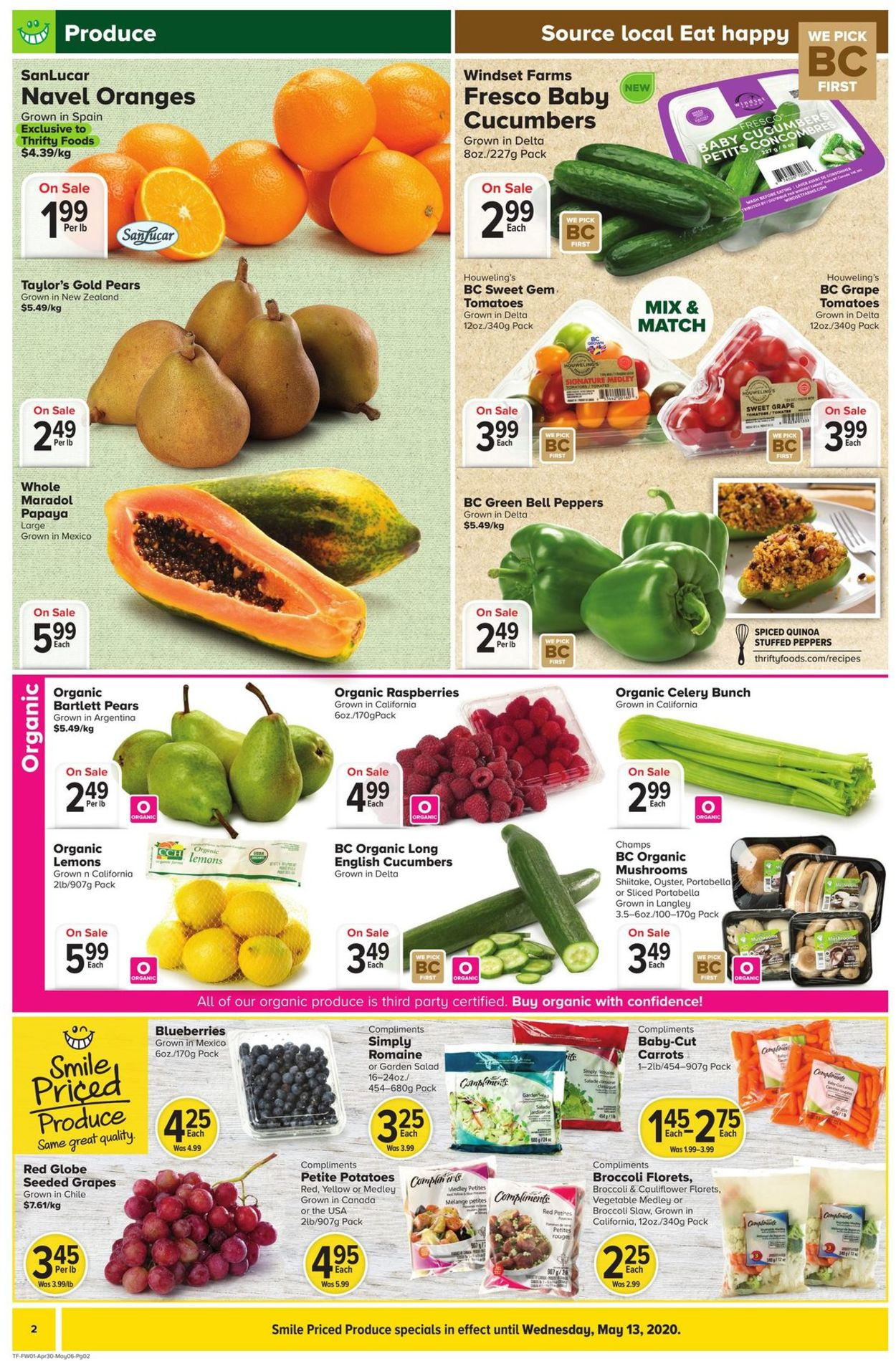Thrifty Foods Flyer - 04/30-05/06/2020 (Page 2)