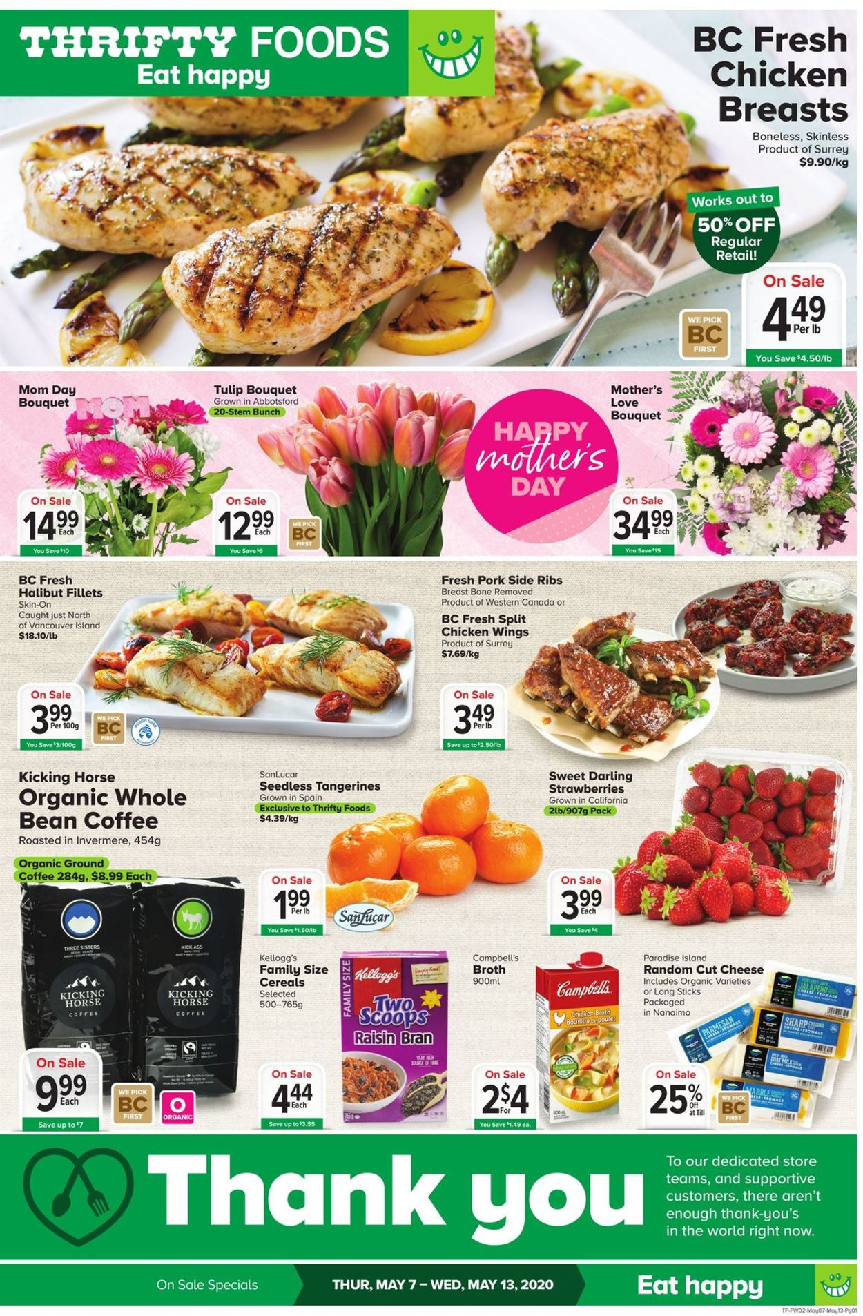 Thrifty Foods Flyer - 05/07-05/13/2020