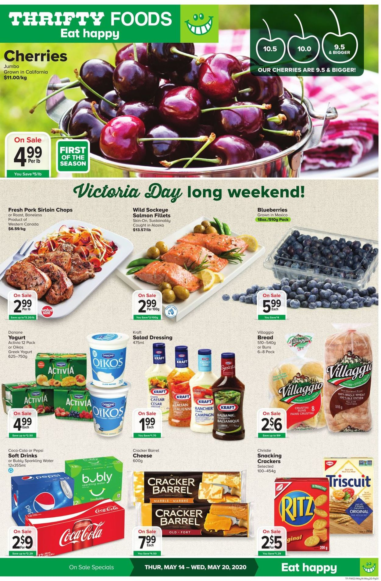 Thrifty Foods Flyer - 05/14-05/20/2020