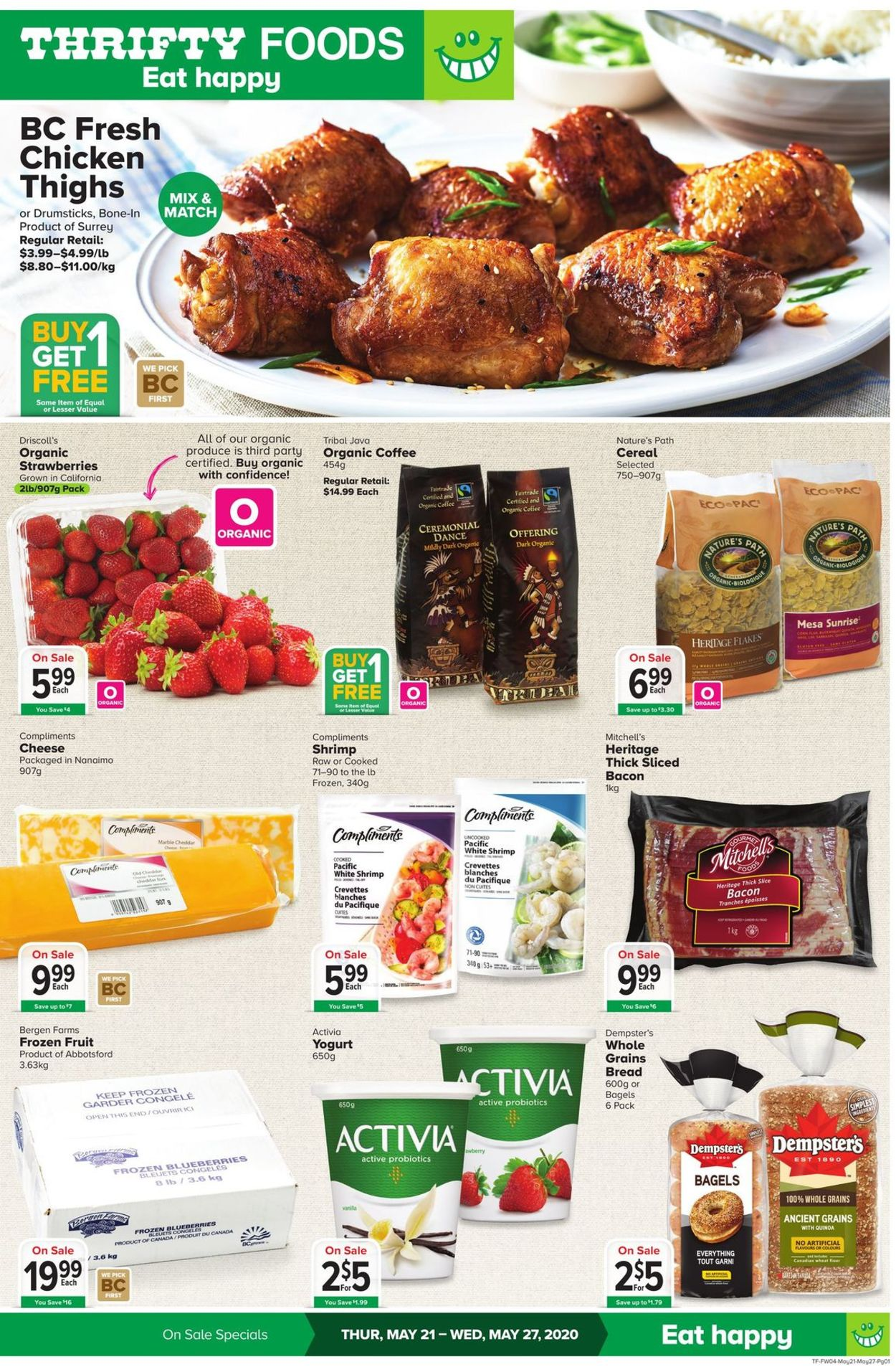 Thrifty Foods Flyer - 05/21-05/27/2020