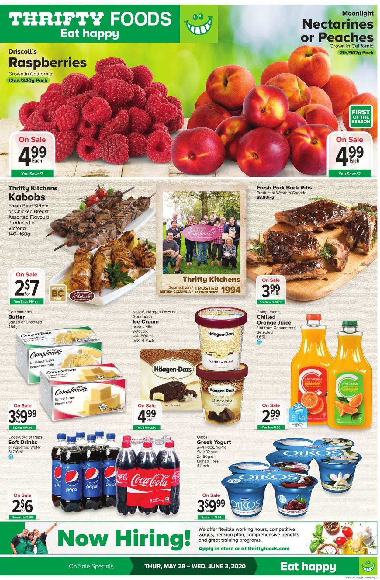 Thrifty Foods Flyer - 05/28-06/03/2020
