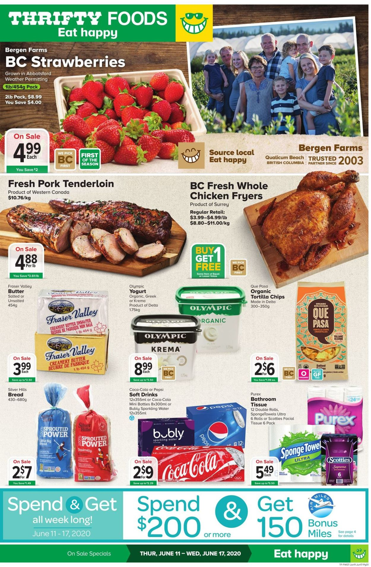 Thrifty Foods Flyer - 06/11-06/17/2020