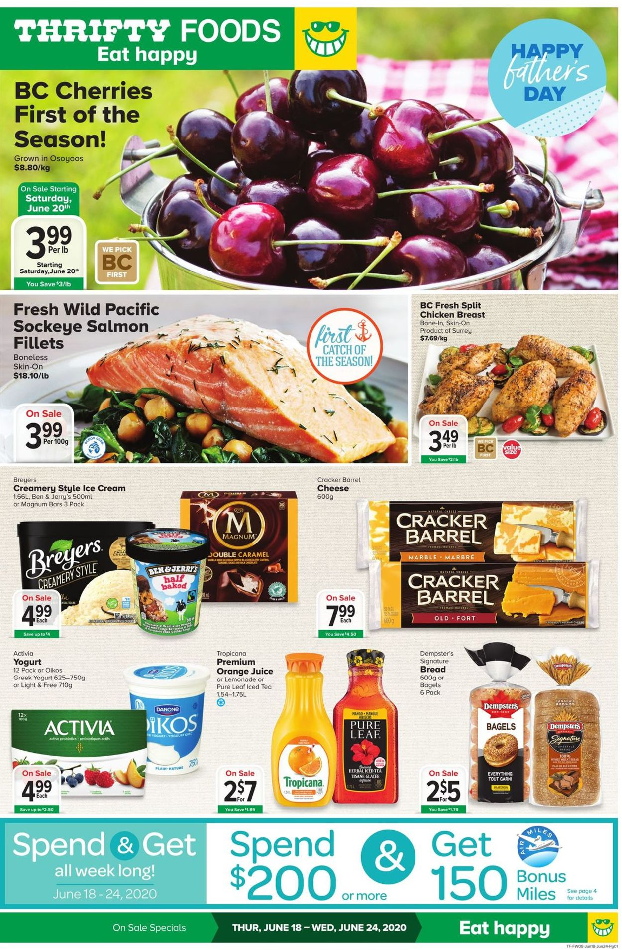 Thrifty Foods Flyer - 06/18-06/24/2020