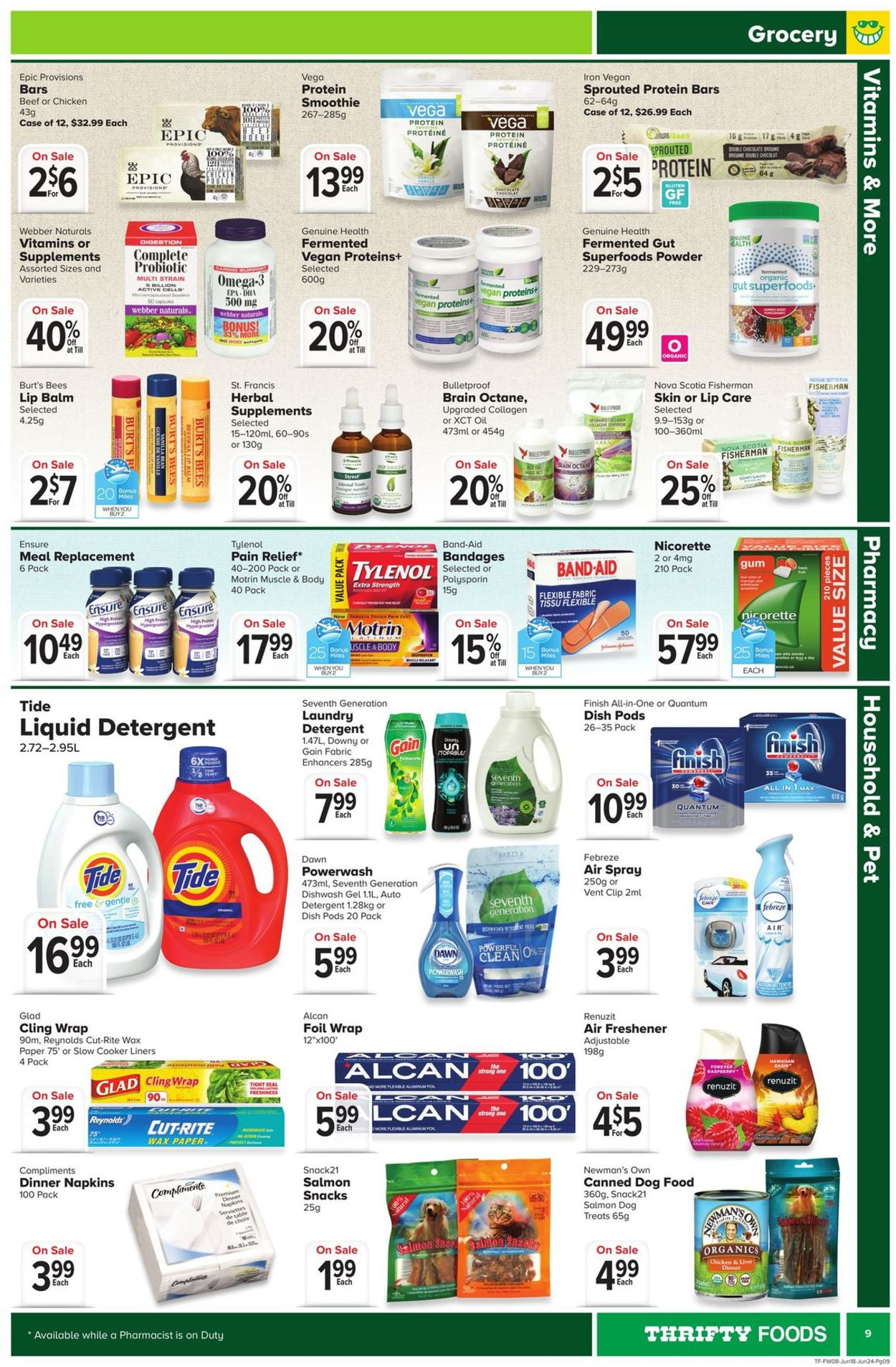 Thrifty Foods Flyer - 06/18-06/24/2020 (Page 9)