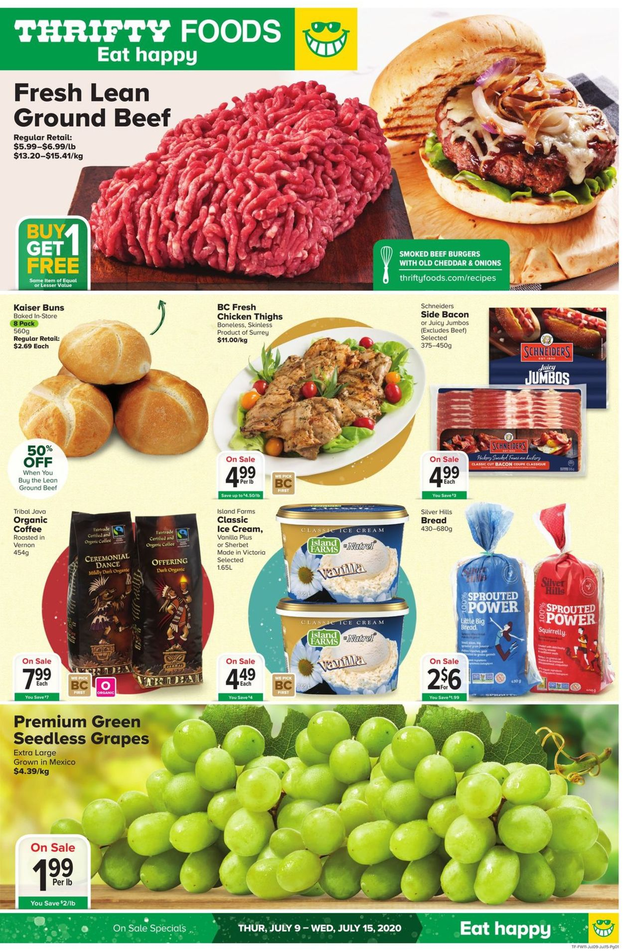 Thrifty Foods Flyer - 07/09-07/15/2020
