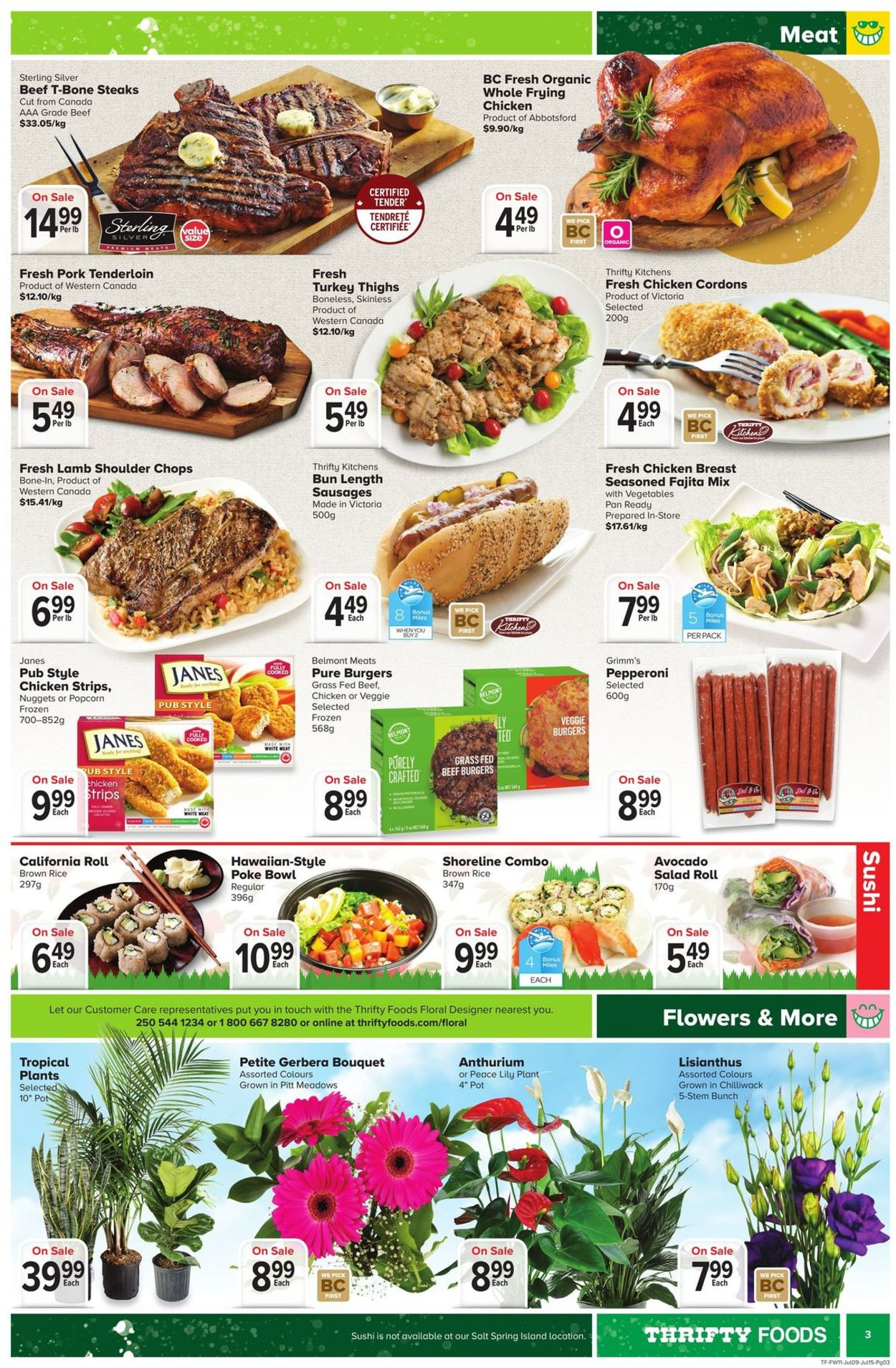 Thrifty Foods Flyer - 07/09-07/15/2020 (Page 3)
