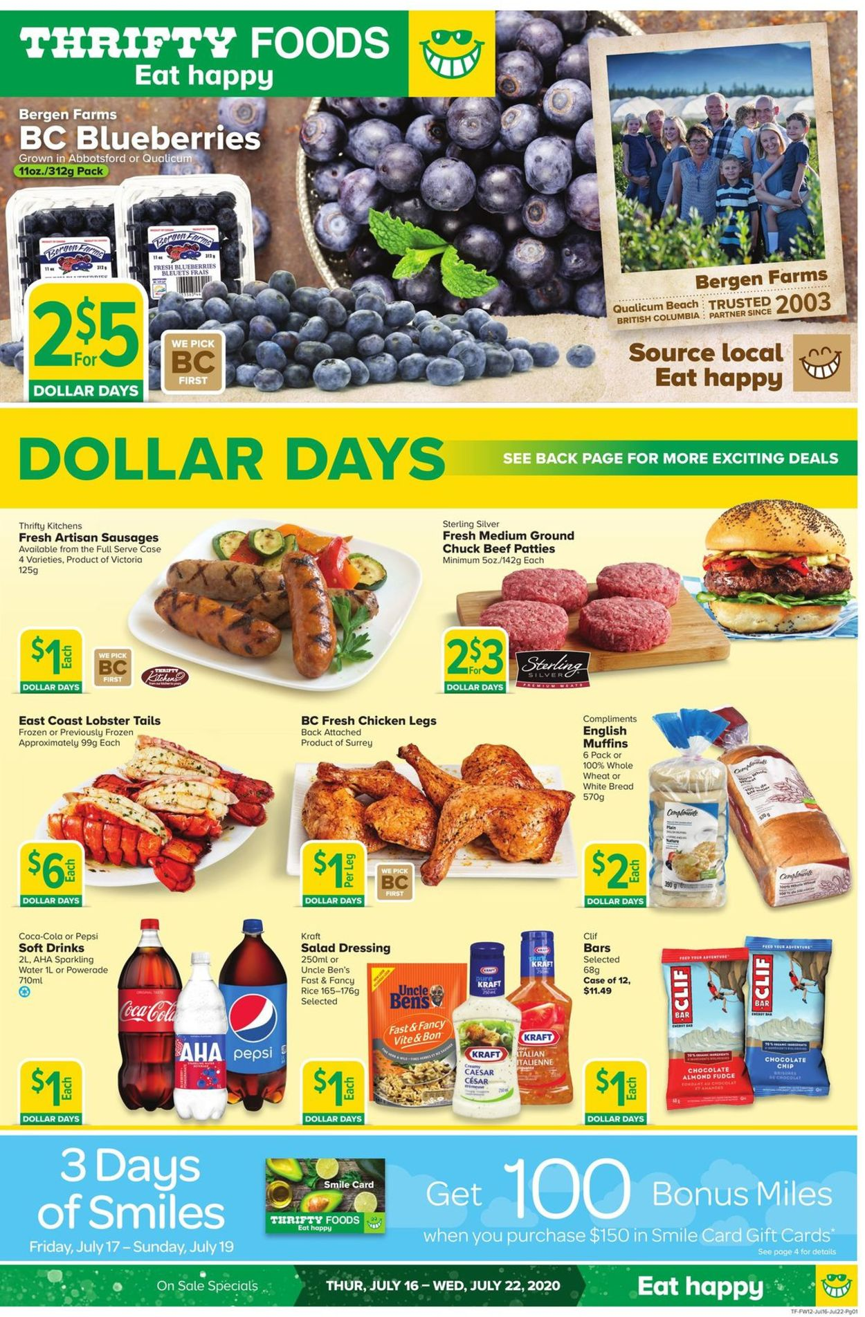 Thrifty Foods Flyer - 07/16-07/22/2020