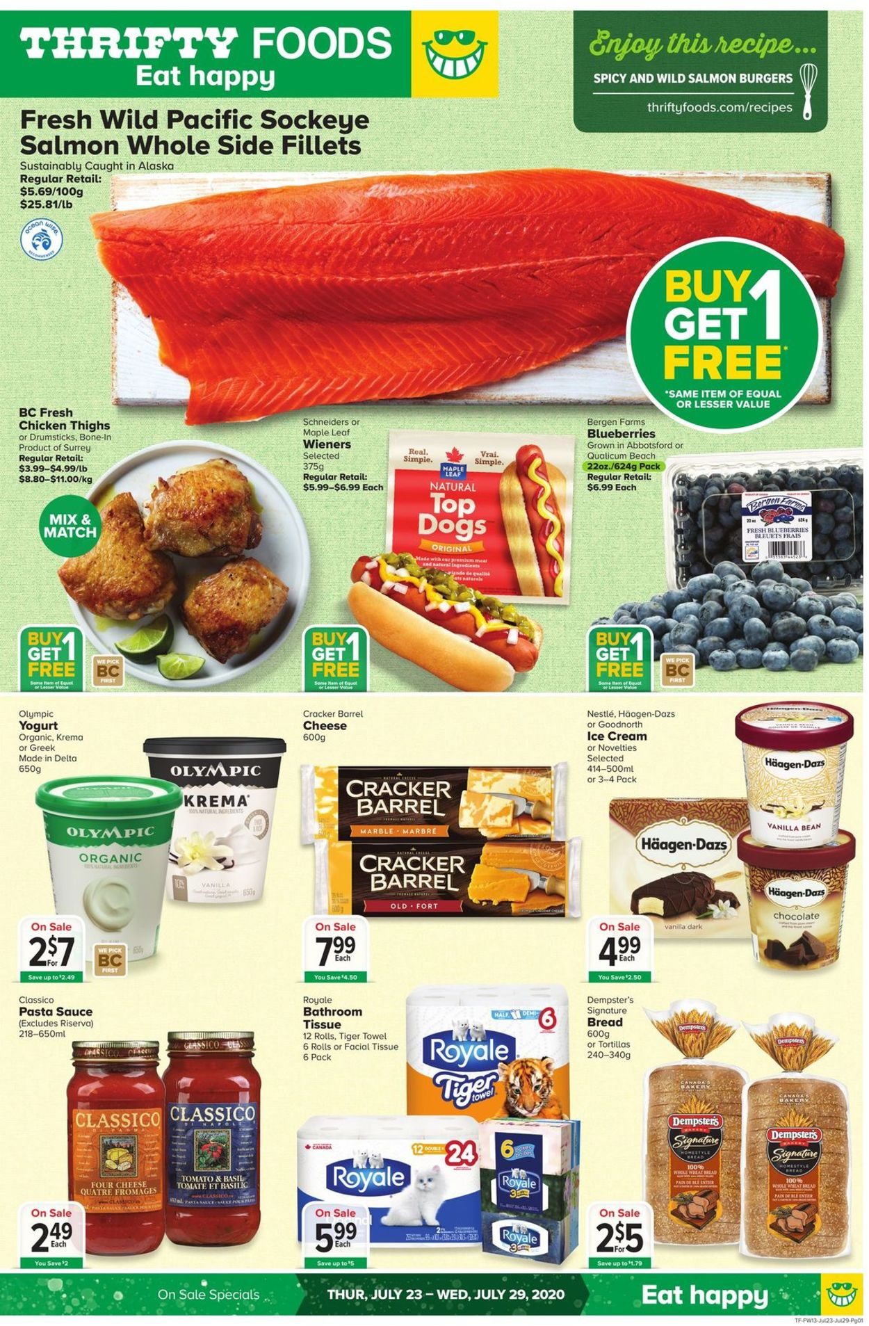 Thrifty Foods Flyer - 07/23-07/29/2020