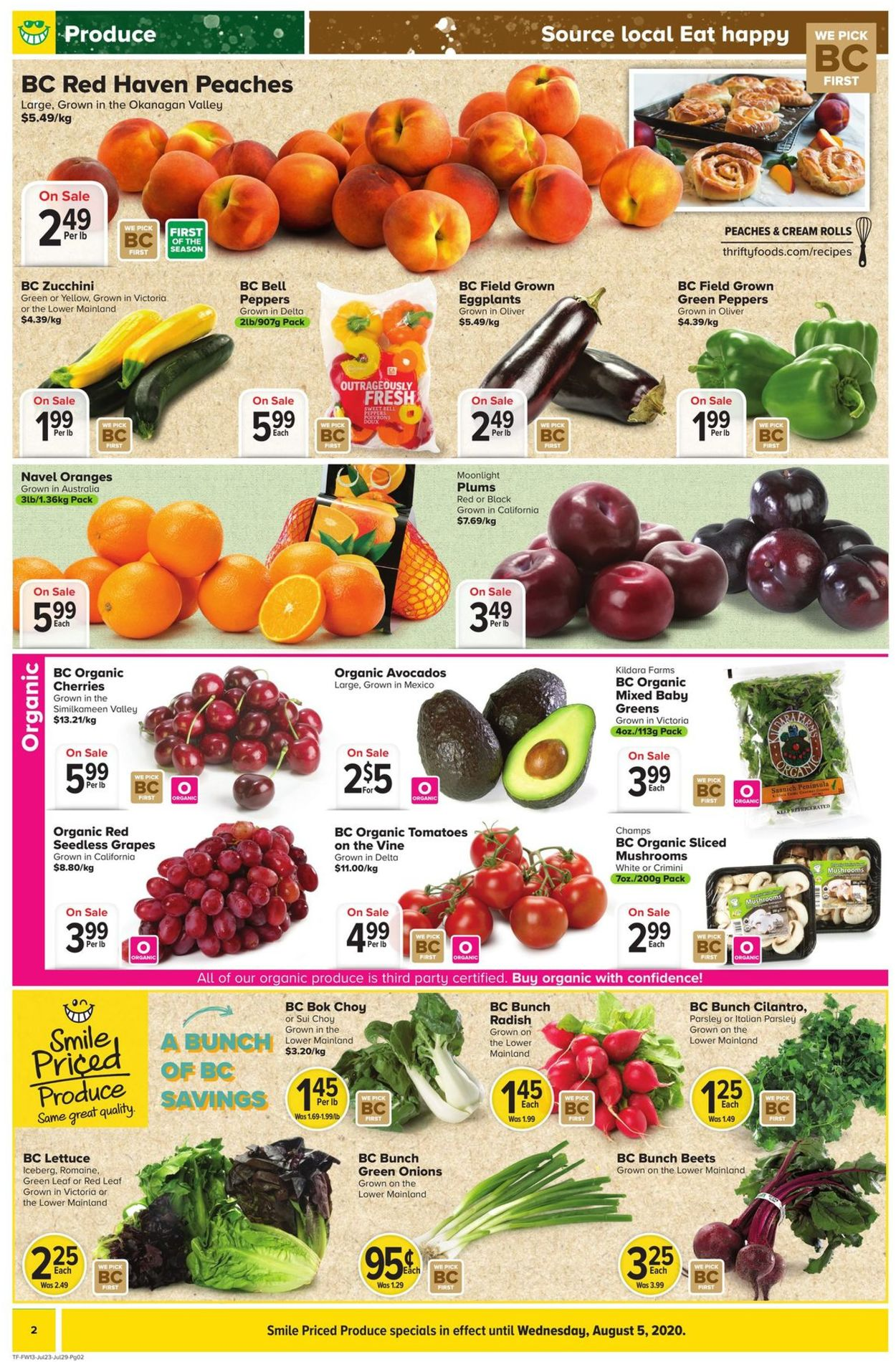 Thrifty Foods Flyer - 07/23-07/29/2020 (Page 2)
