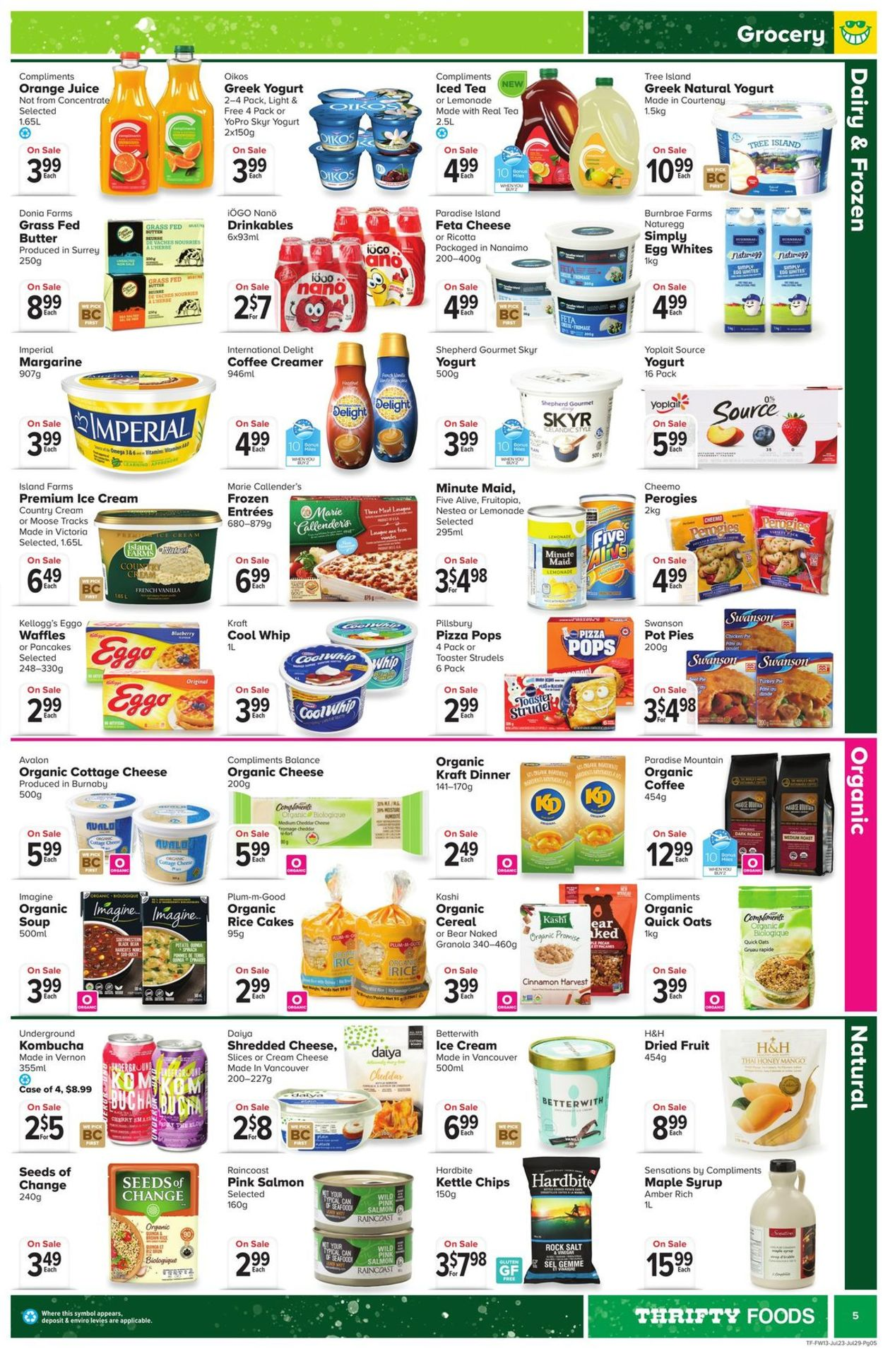 Thrifty Foods Flyer - 07/23-07/29/2020 (Page 5)
