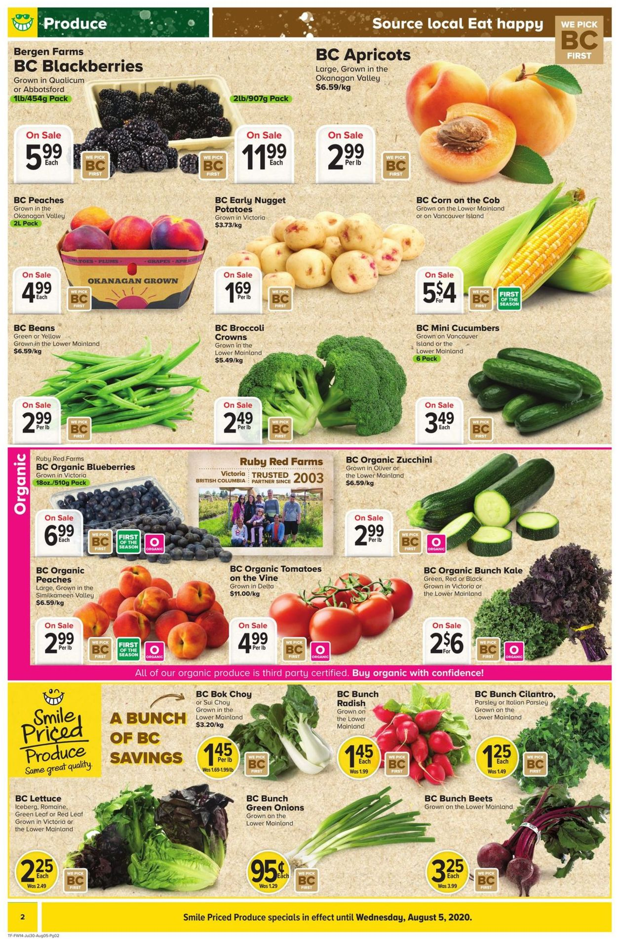 Thrifty Foods Flyer - 07/30-08/05/2020 (Page 2)