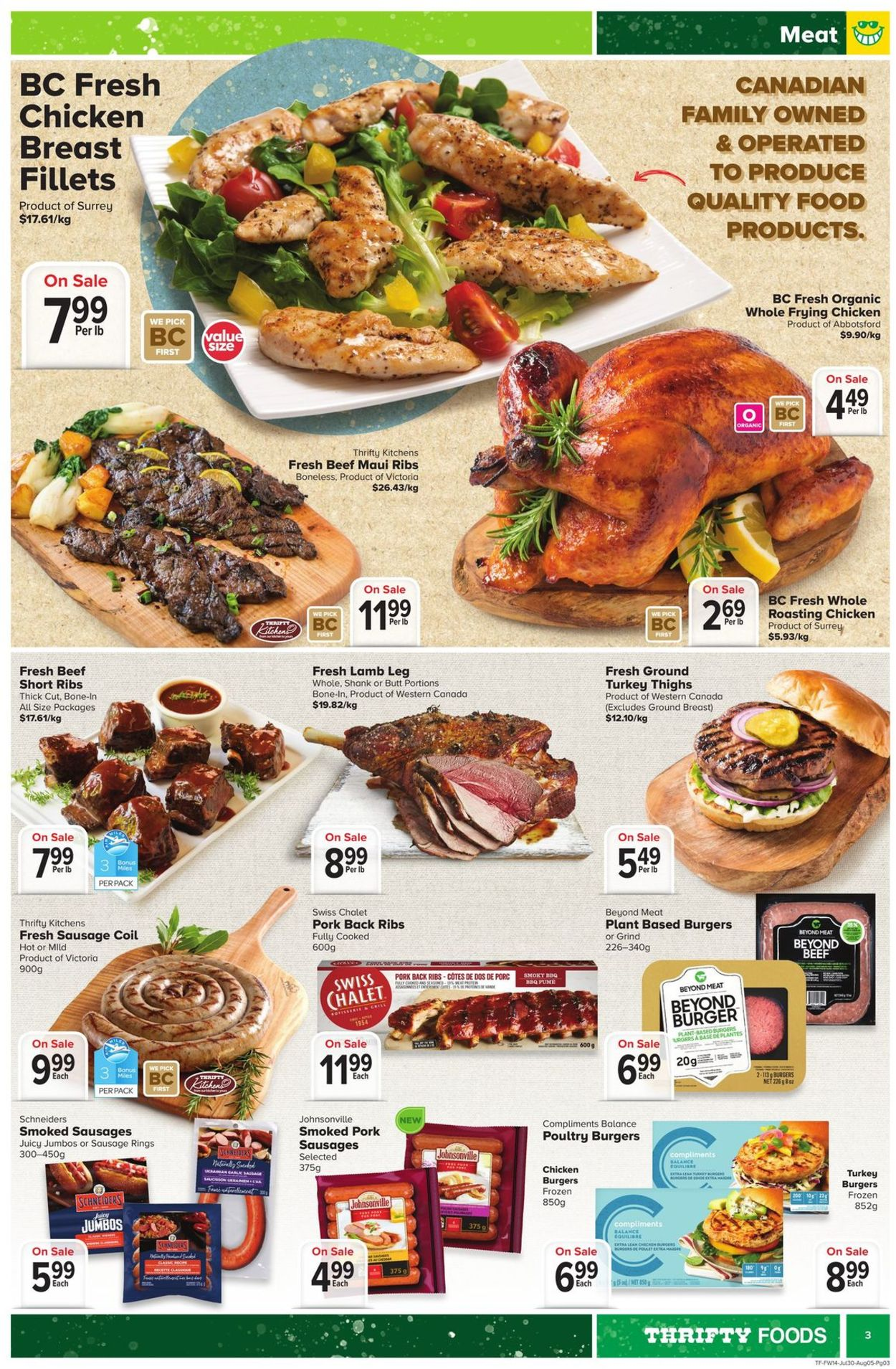Thrifty Foods Flyer - 07/30-08/05/2020 (Page 3)