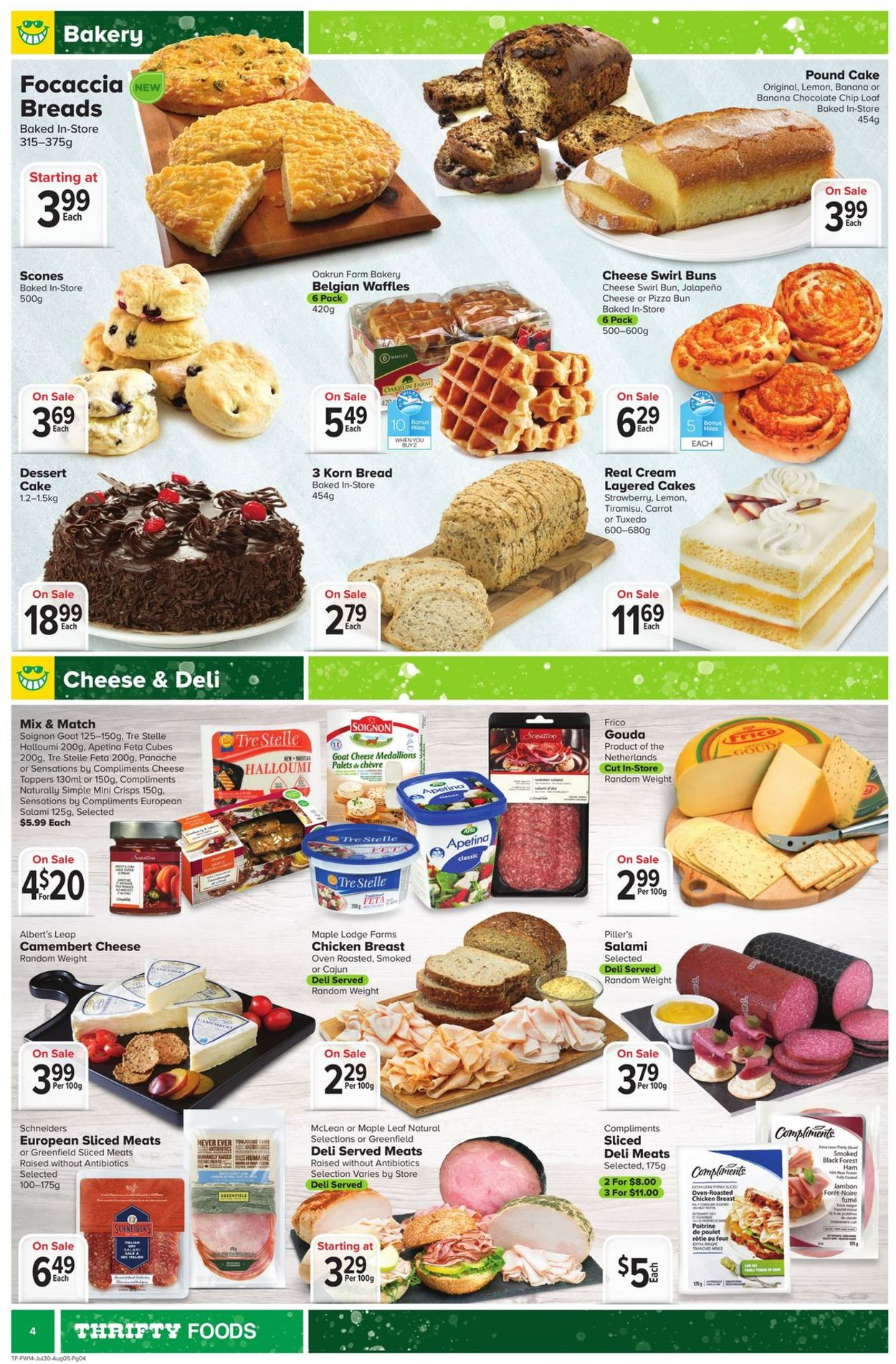 Thrifty Foods Flyer - 07/30-08/05/2020 (Page 4)