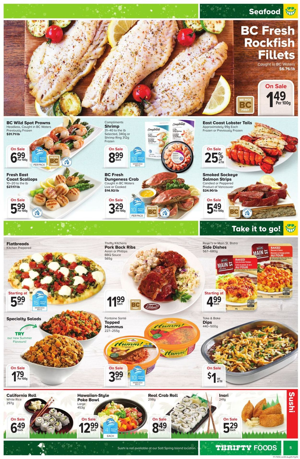 Thrifty Foods Flyer - 07/30-08/05/2020 (Page 5)