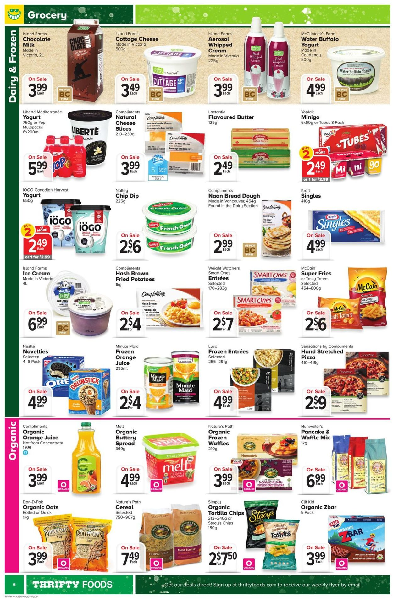 Thrifty Foods Flyer - 07/30-08/05/2020 (Page 6)