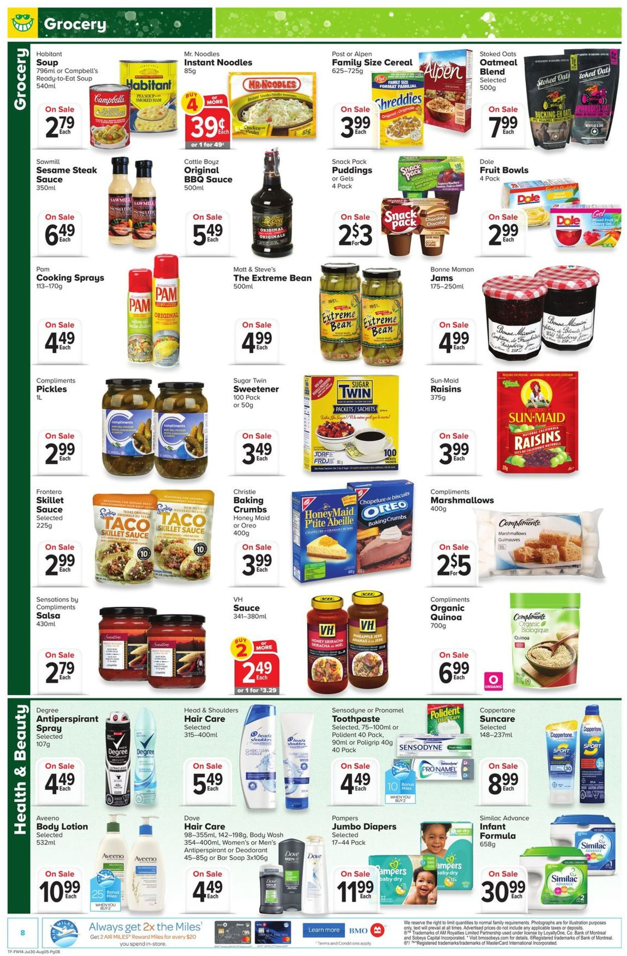 Thrifty Foods Flyer - 07/30-08/05/2020 (Page 8)