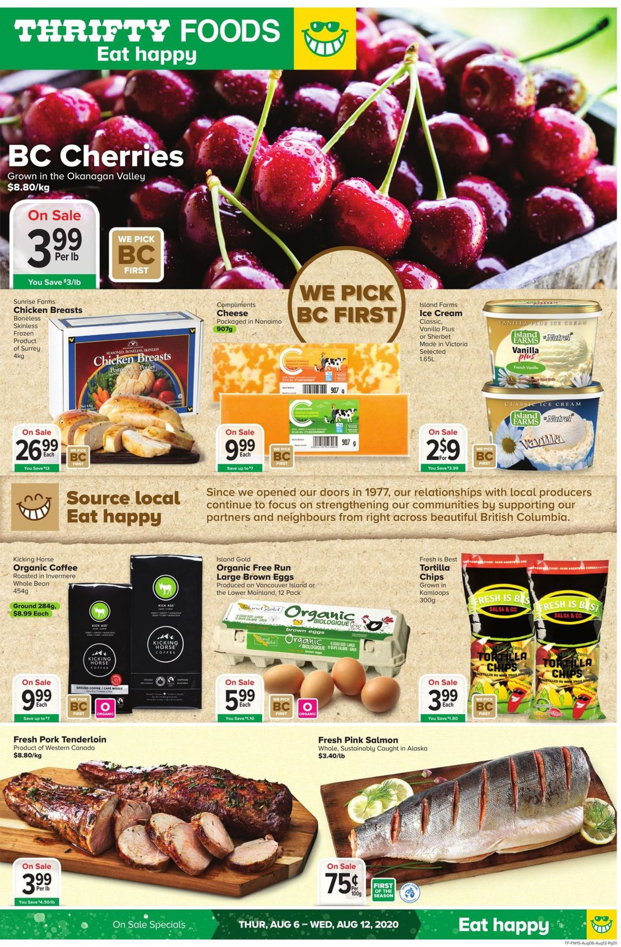 Thrifty Foods Flyer - 08/06-08/12/2020