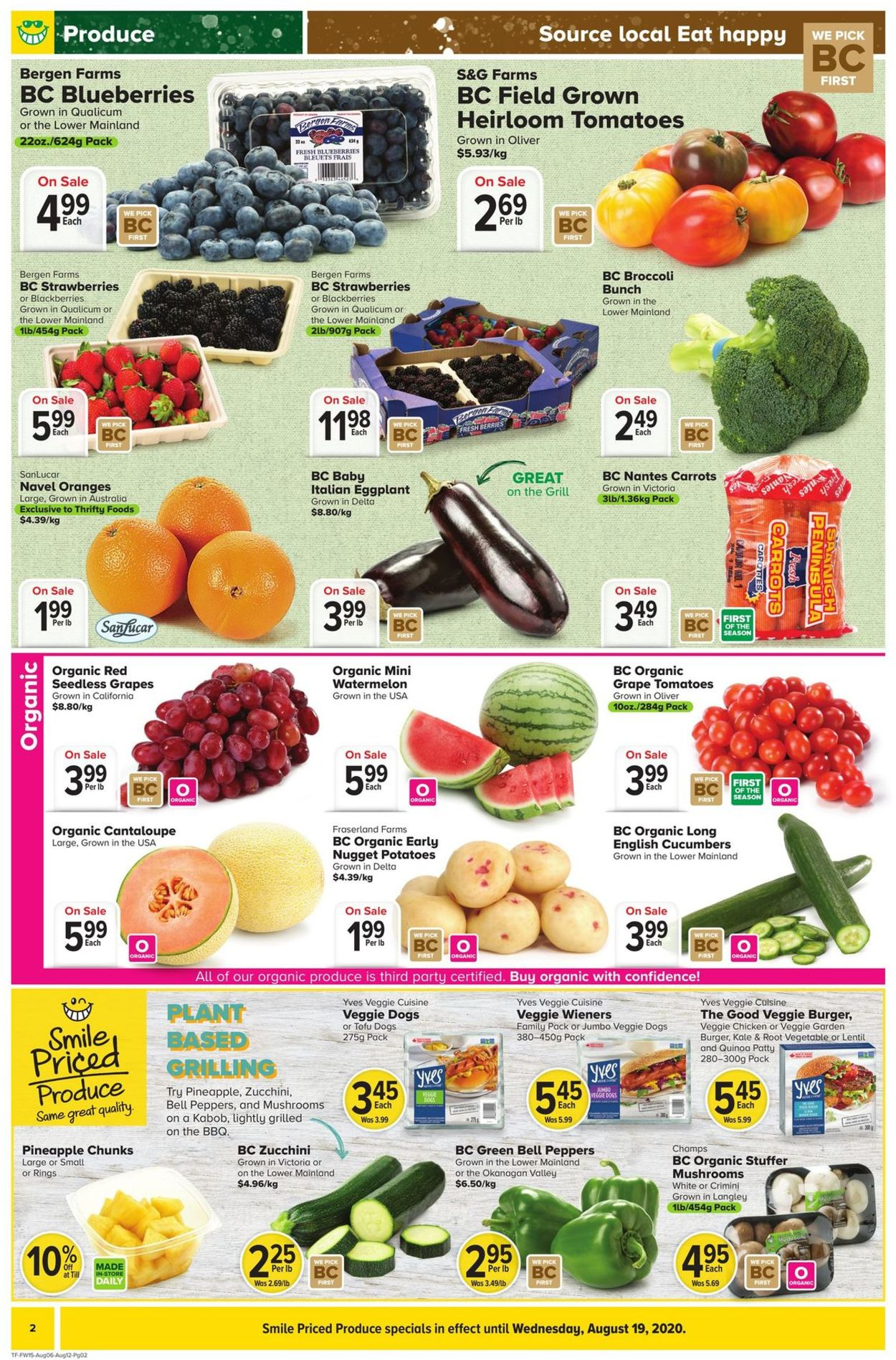 Thrifty Foods Flyer - 08/06-08/12/2020 (Page 2)