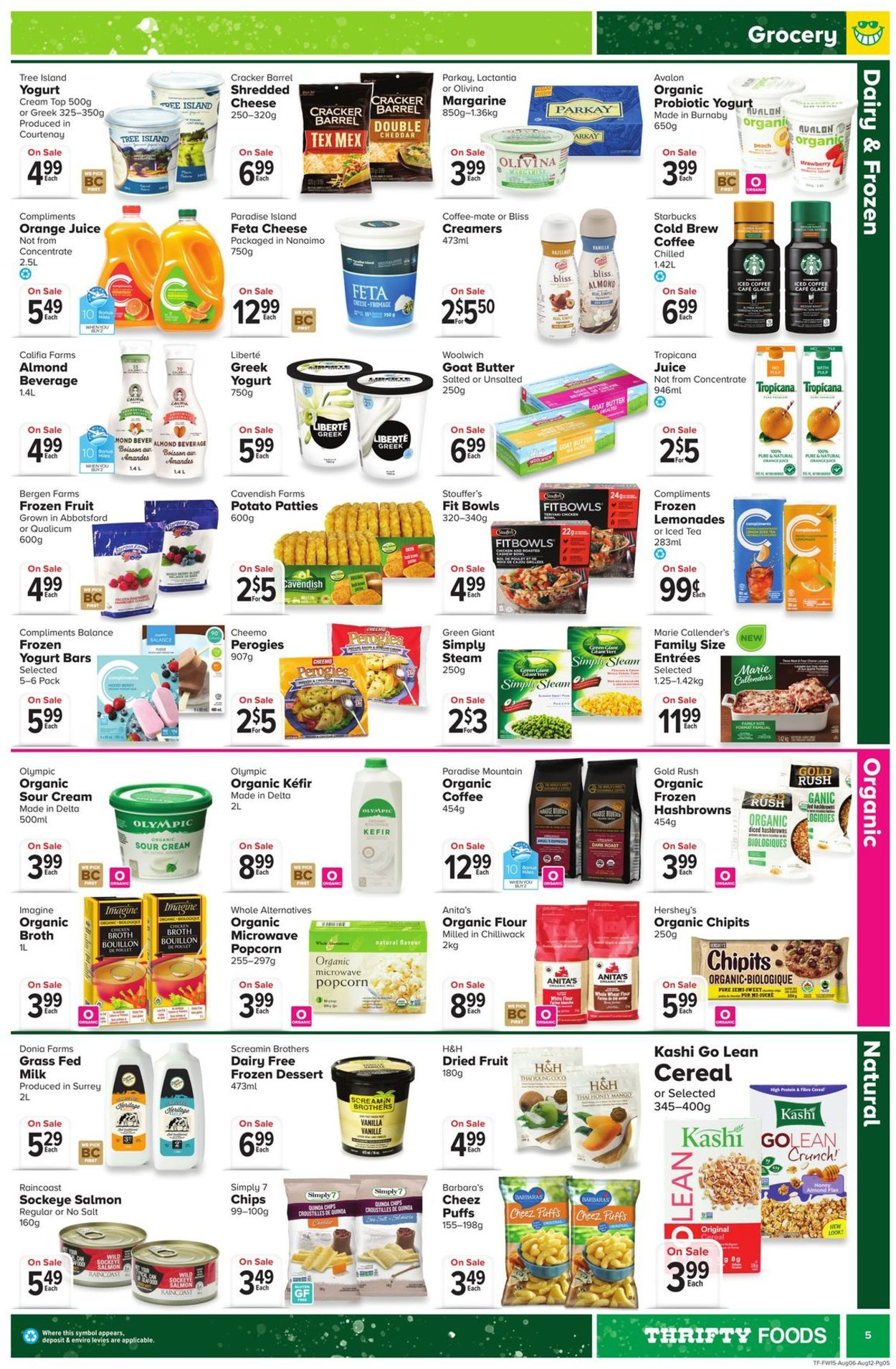 Thrifty Foods Flyer - 08/06-08/12/2020 (Page 5)