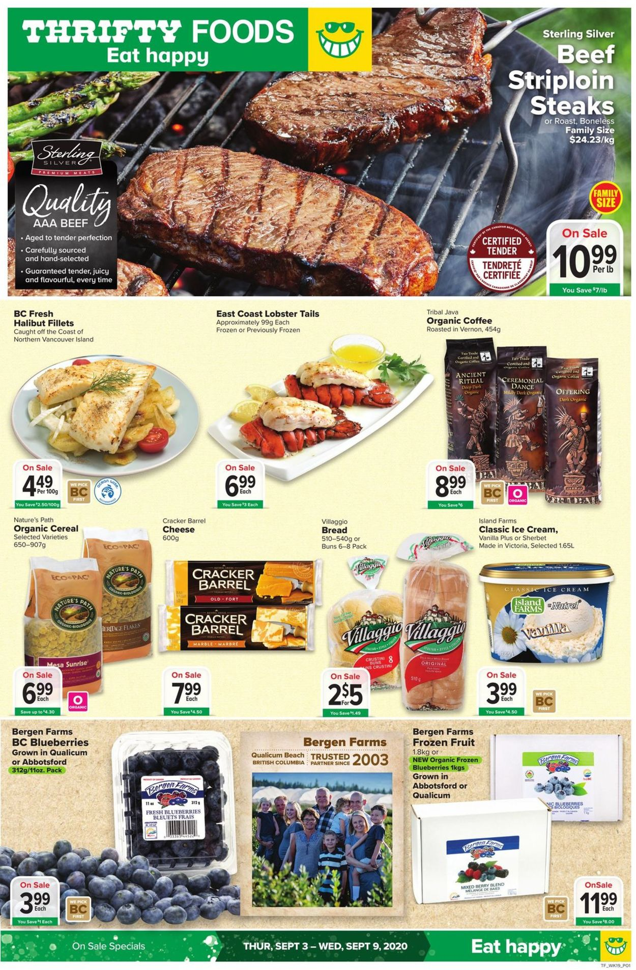 Thrifty Foods Flyer - 09/03-09/09/2020