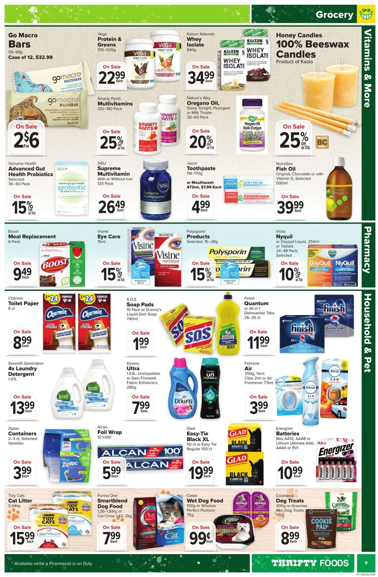 Thrifty Foods Flyer - 09/10-09/16/2020 (Page 9)