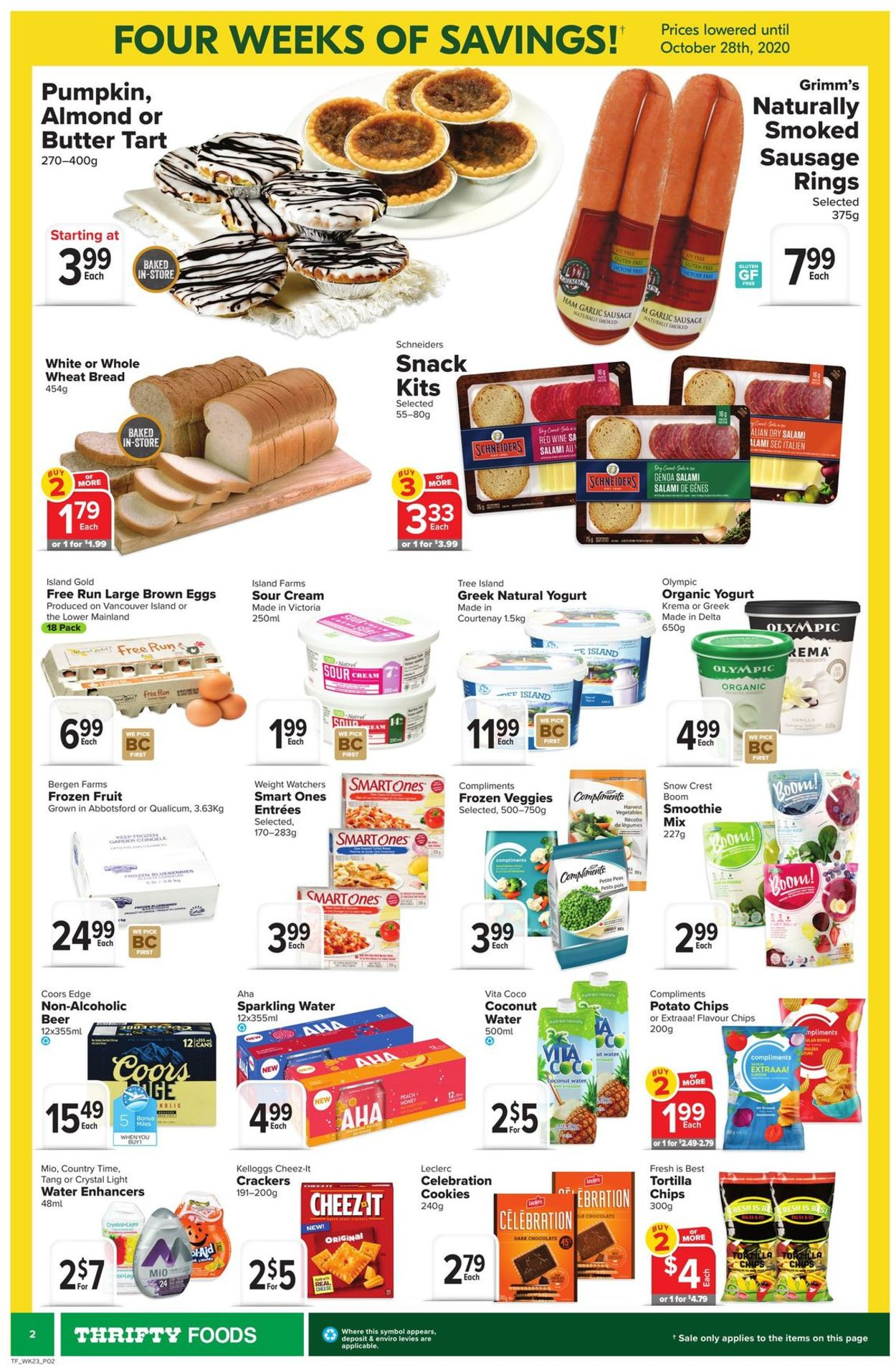 Thrifty Foods Flyer - 10/01-10/07/2020 (Page 2)