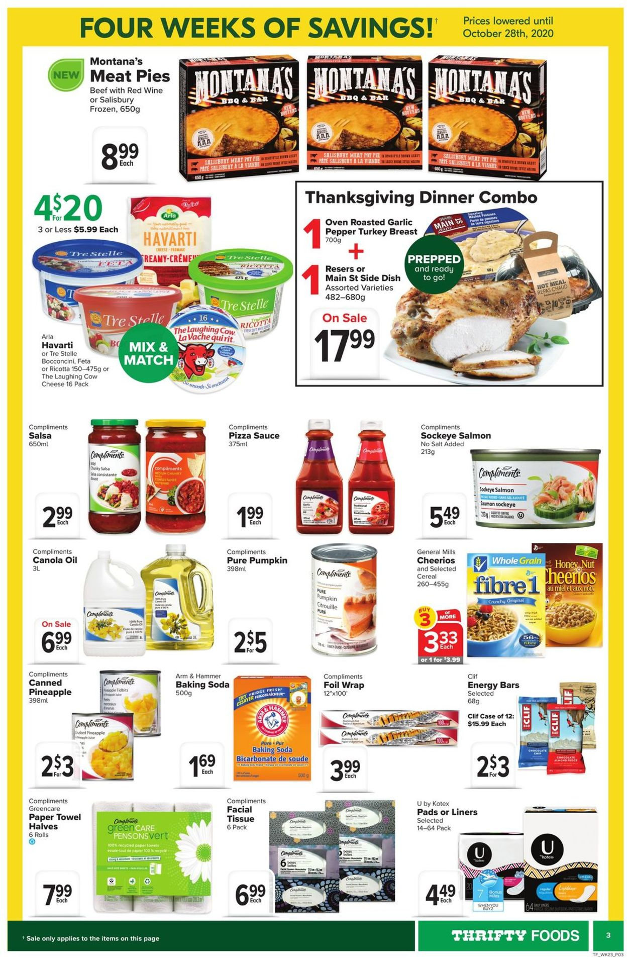 Thrifty Foods Flyer - 10/01-10/07/2020 (Page 3)