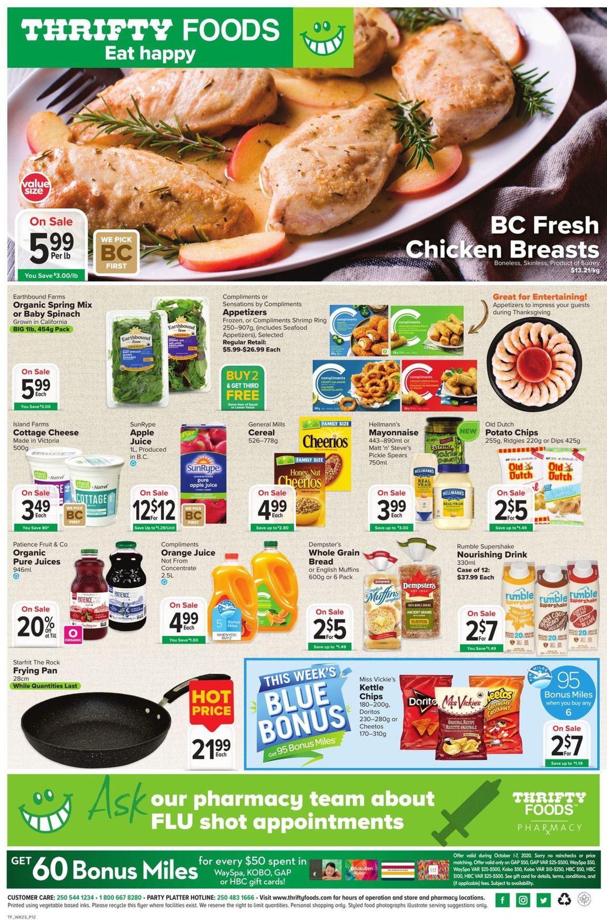 Thrifty Foods Flyer - 10/01-10/07/2020 (Page 12)
