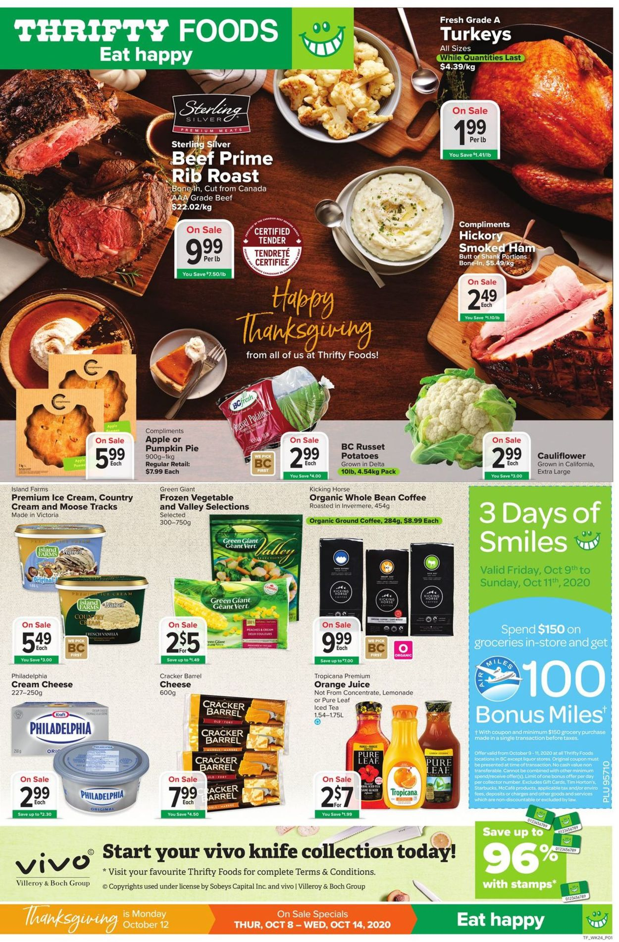 Thrifty Foods Flyer - 10/08-10/14/2020