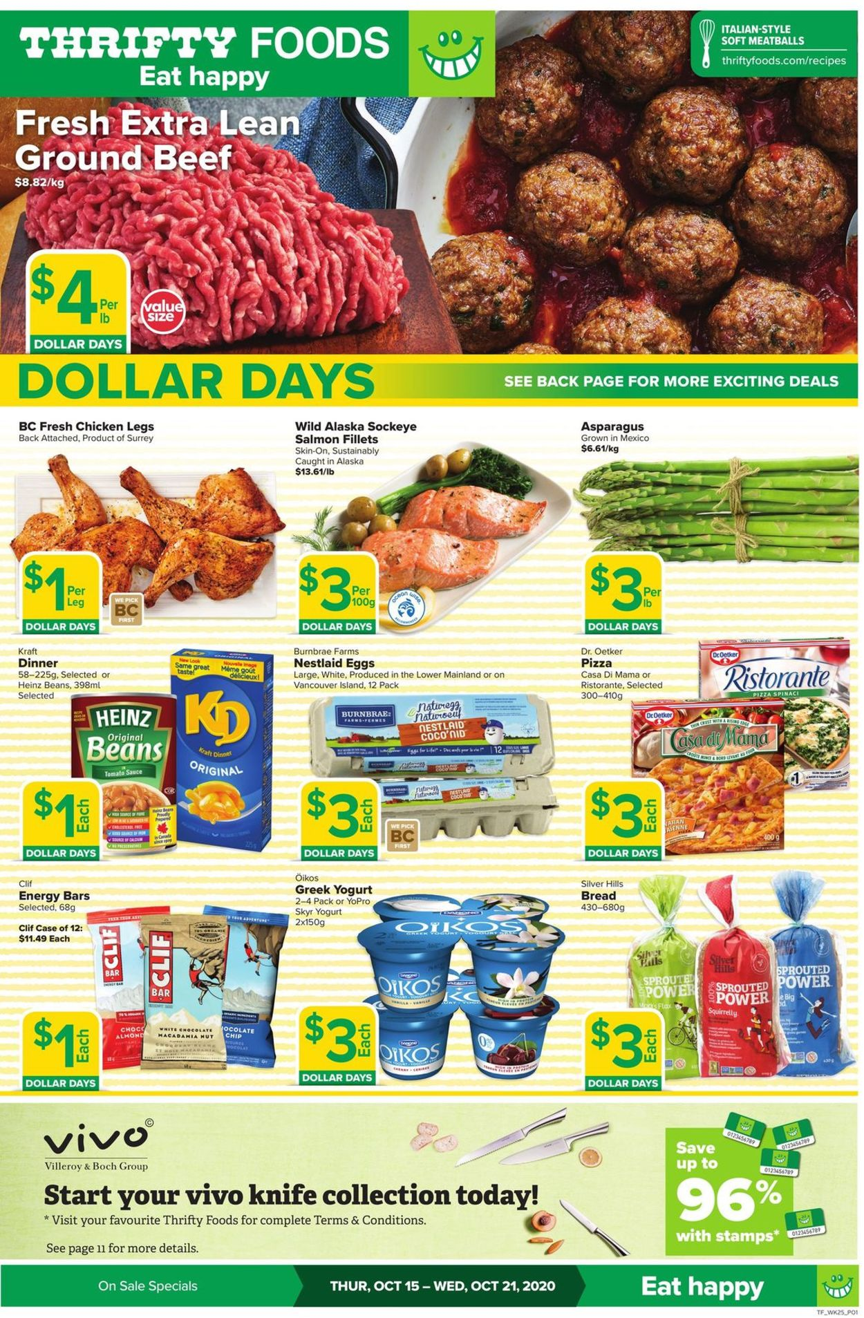 Thrifty Foods Flyer - 10/15-10/21/2020