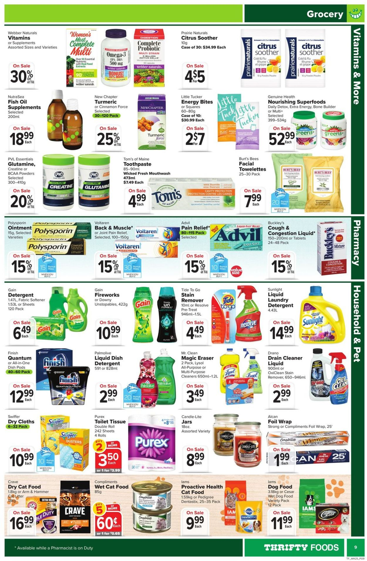 Thrifty Foods Flyer - 10/15-10/21/2020 (Page 9)