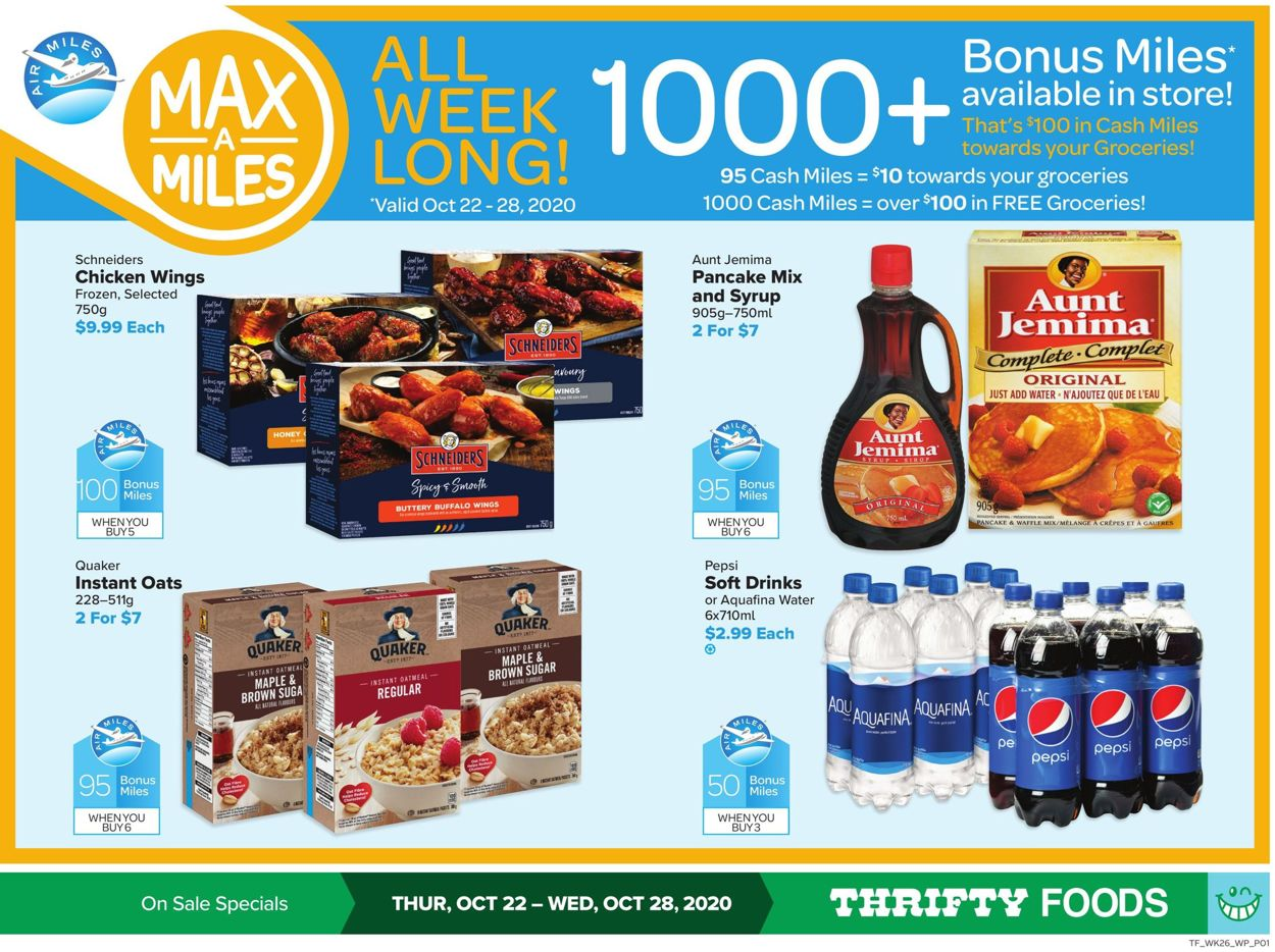 Thrifty Foods Flyer - 10/22-10/28/2020