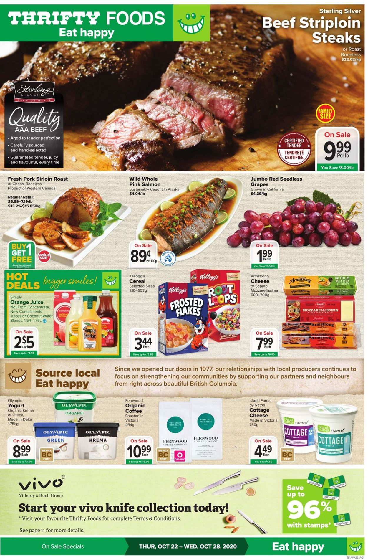 Thrifty Foods Flyer - 10/22-10/28/2020 (Page 3)