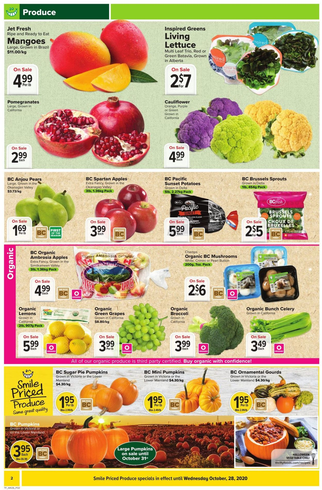 Thrifty Foods Flyer - 10/22-10/28/2020 (Page 4)