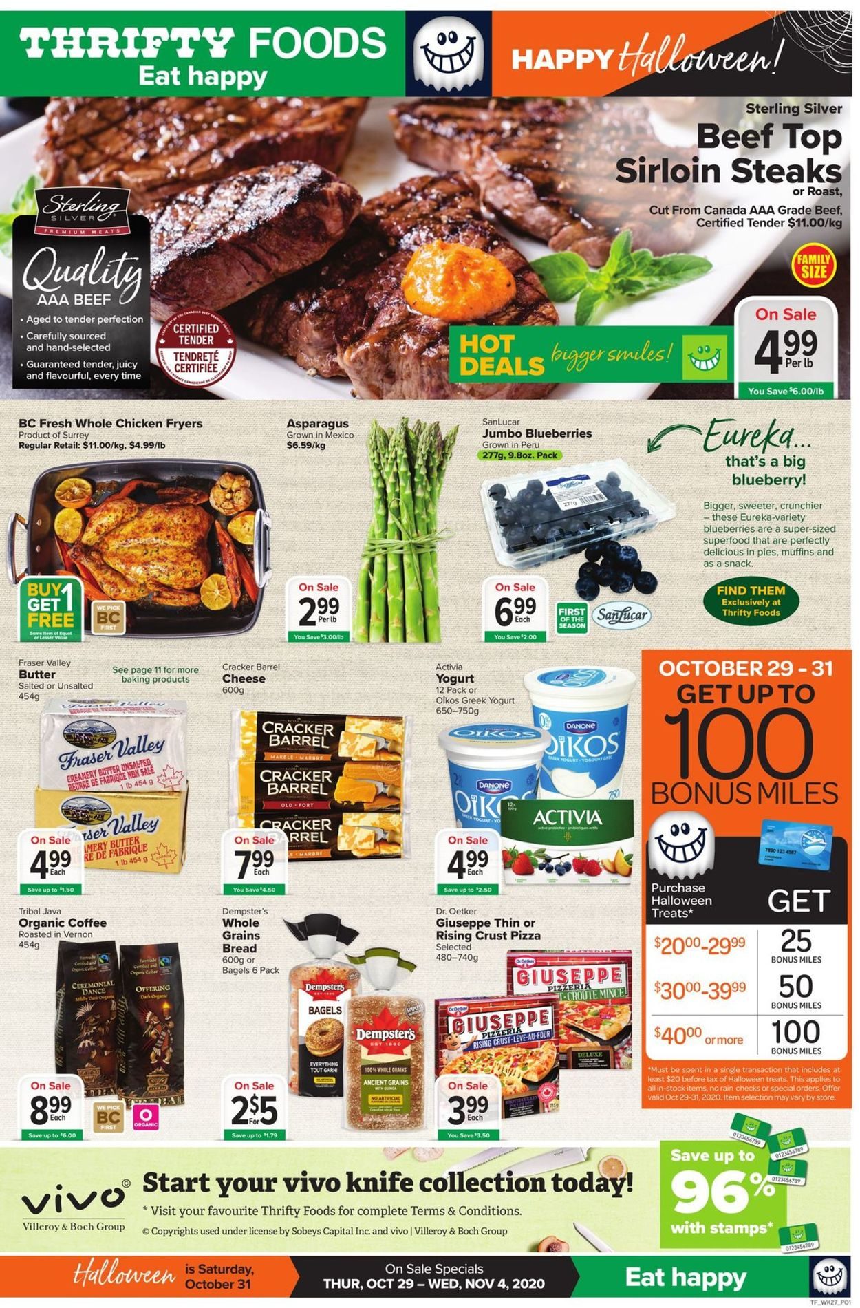 Thrifty Foods Flyer - 10/29-11/04/2020