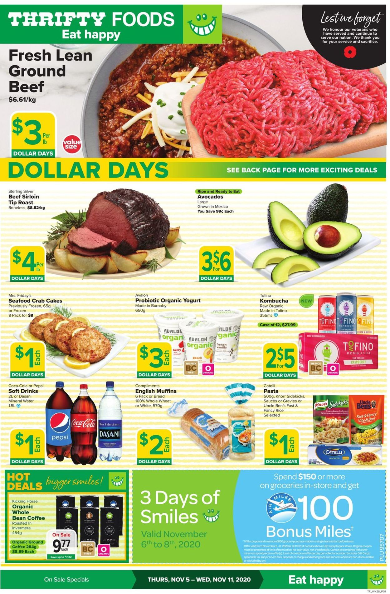 Thrifty Foods Flyer - 11/05-11/11/2020