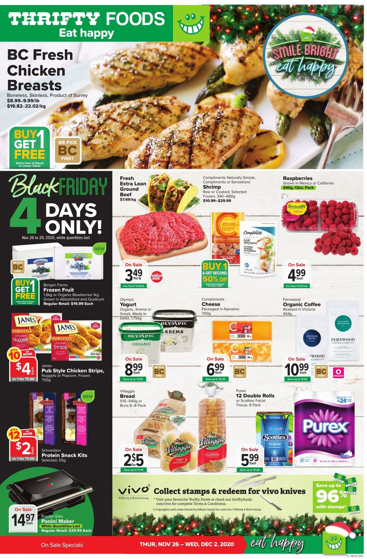 Thrifty Foods - Black Friday 2020 Flyer - 11/26-12/02/2020