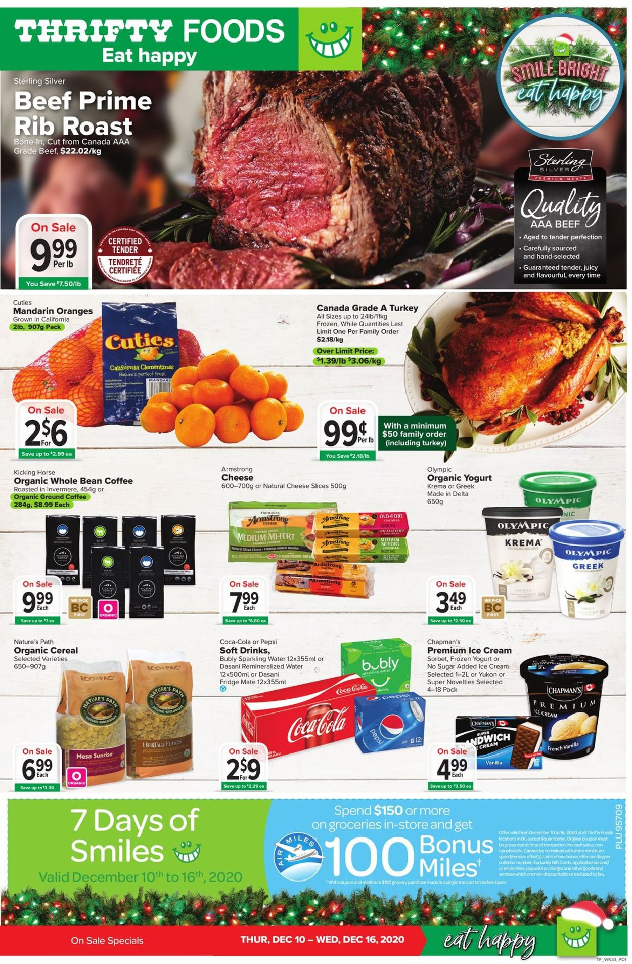 Thrifty Foods - Holiday 2020 Flyer - 12/10-12/16/2020