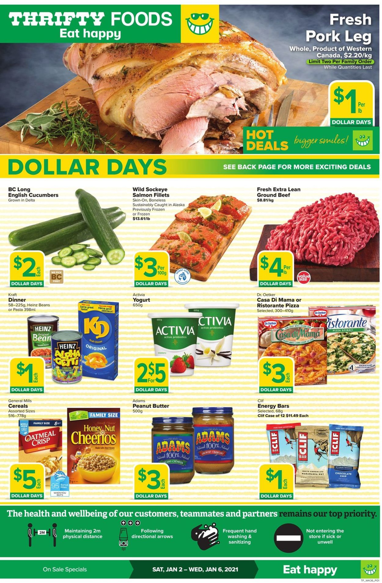 Thrifty Foods Flyer - 01/02-01/06/2021