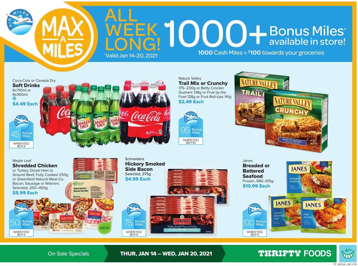Thrifty Foods Flyer - 01/14-01/20/2021