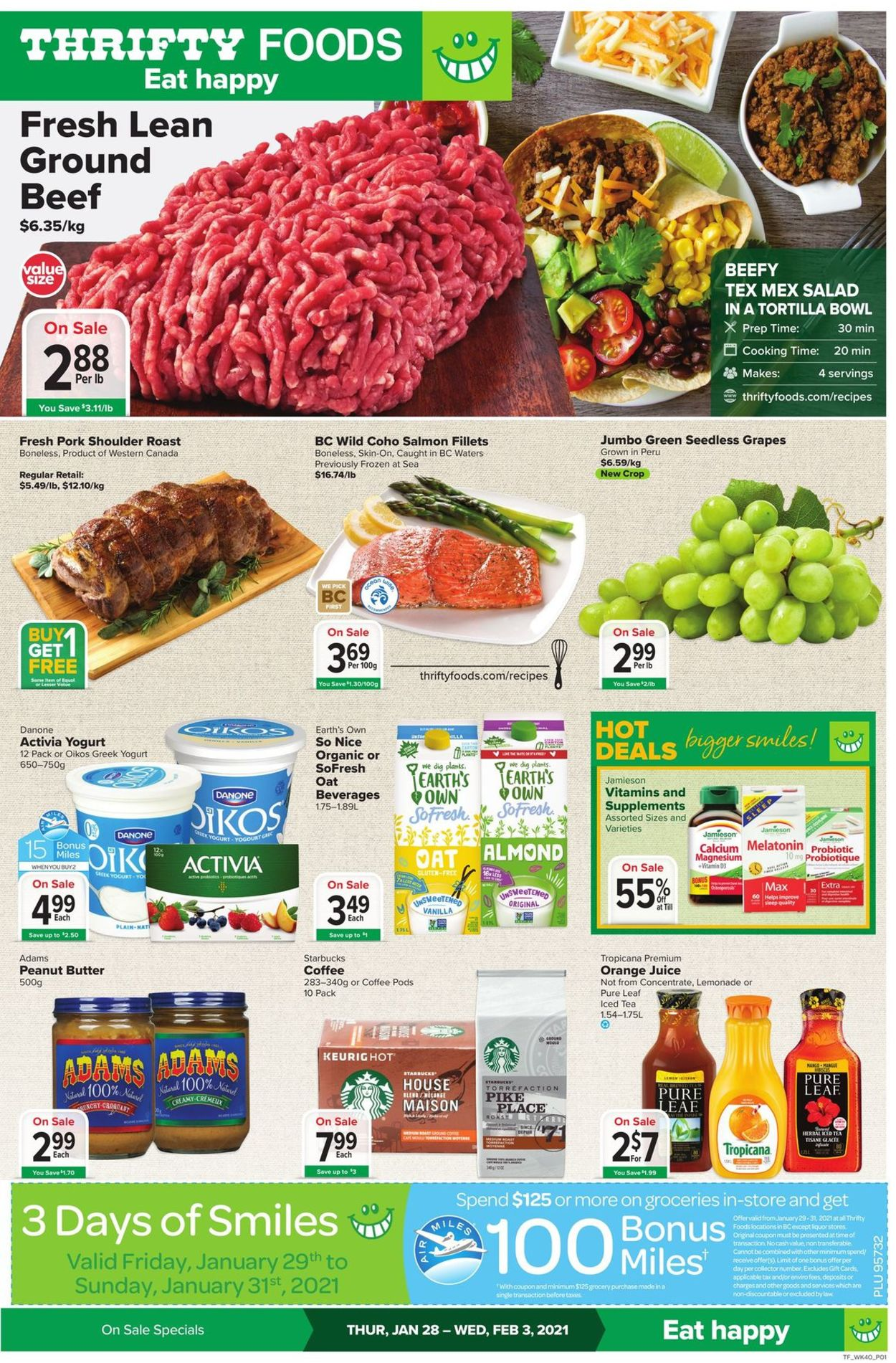 Thrifty Foods Flyer - 01/28-02/03/2021