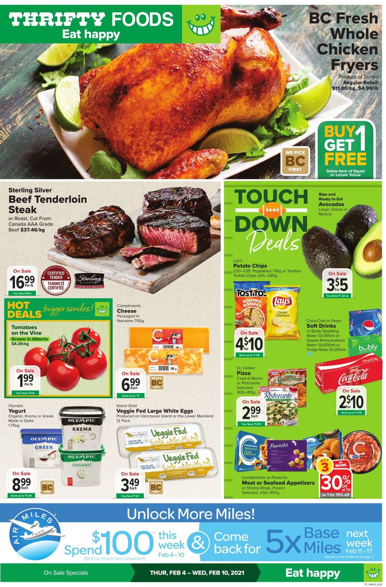 Thrifty Foods Flyer - 02/04-02/10/2021