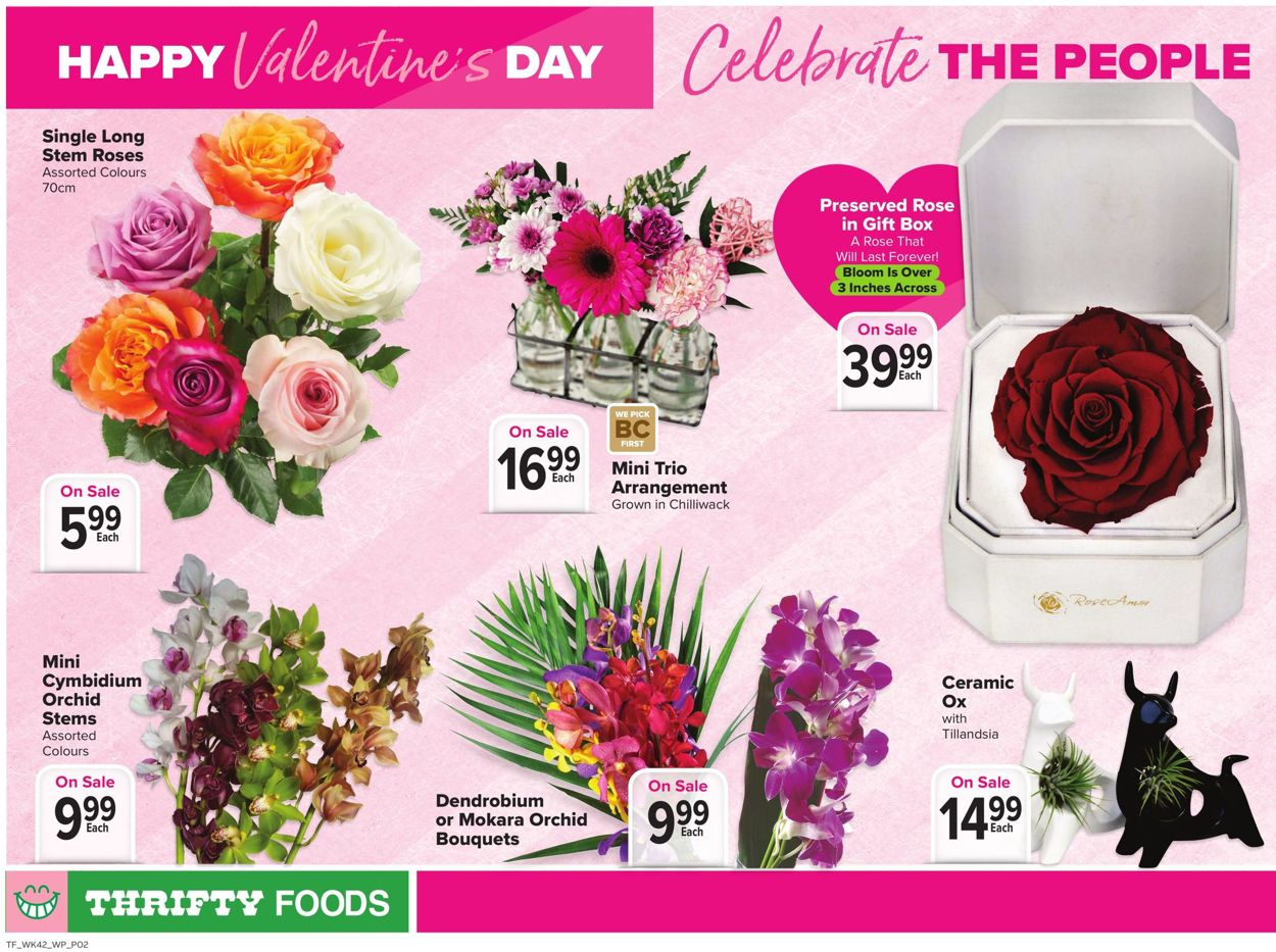 Thrifty Foods - Valentine's Day 2021 Flyer - 02/11-02/17/2021 (Page 2)
