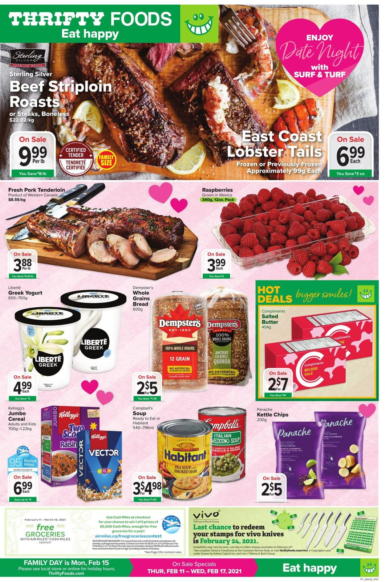 Thrifty Foods - Valentine's Day 2021 Flyer - 02/11-02/17/2021 (Page 3)